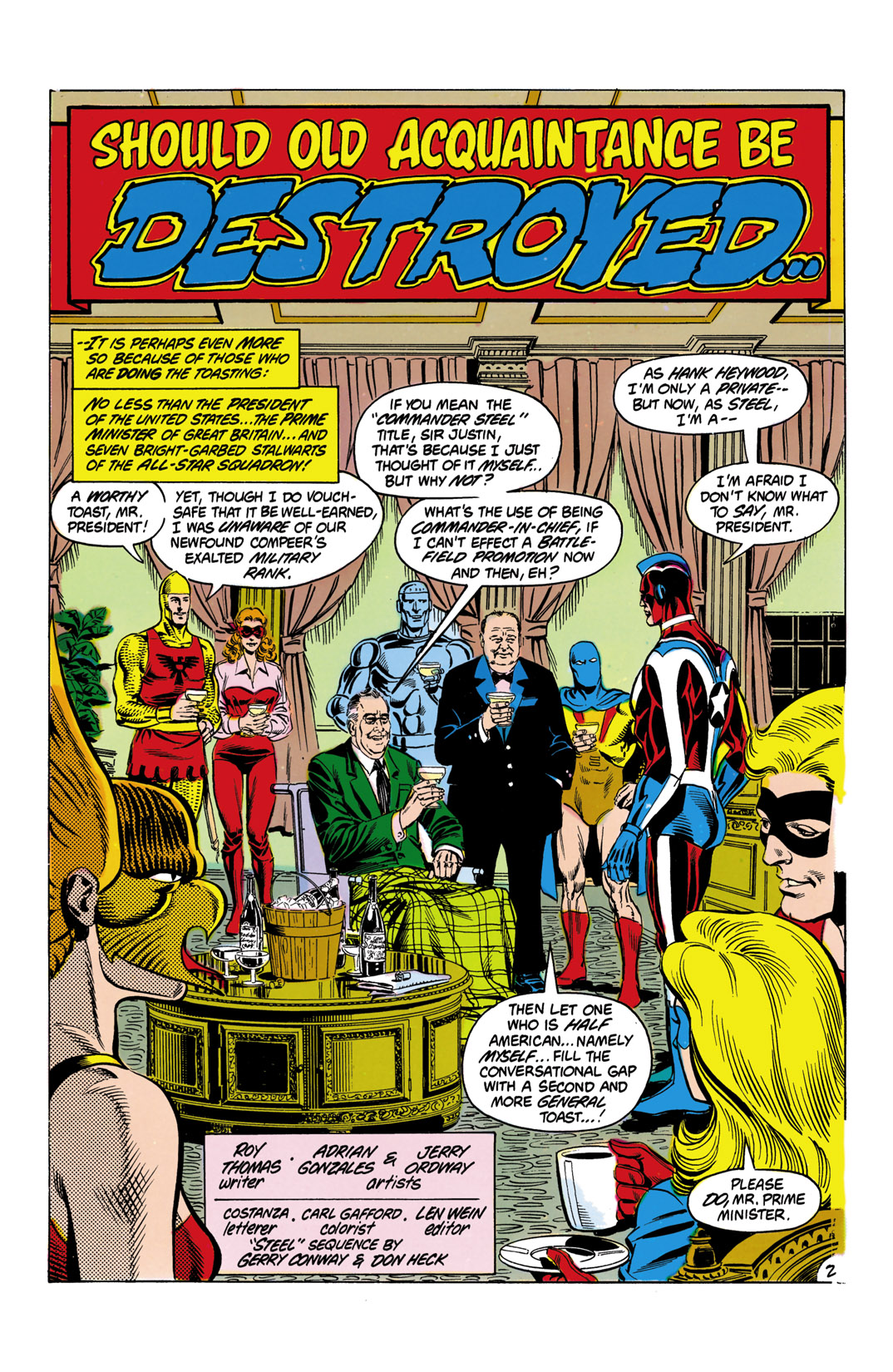 Read online All-Star Squadron comic -  Issue #9 - 3
