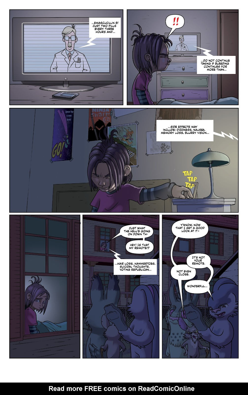 Read online Auntie Agatha's Home For Wayward Rabbits comic -  Issue #6 - 13