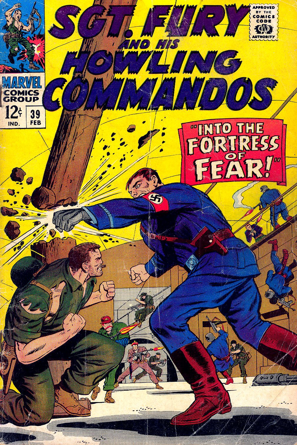 Read online Sgt. Fury comic -  Issue #39 - 1