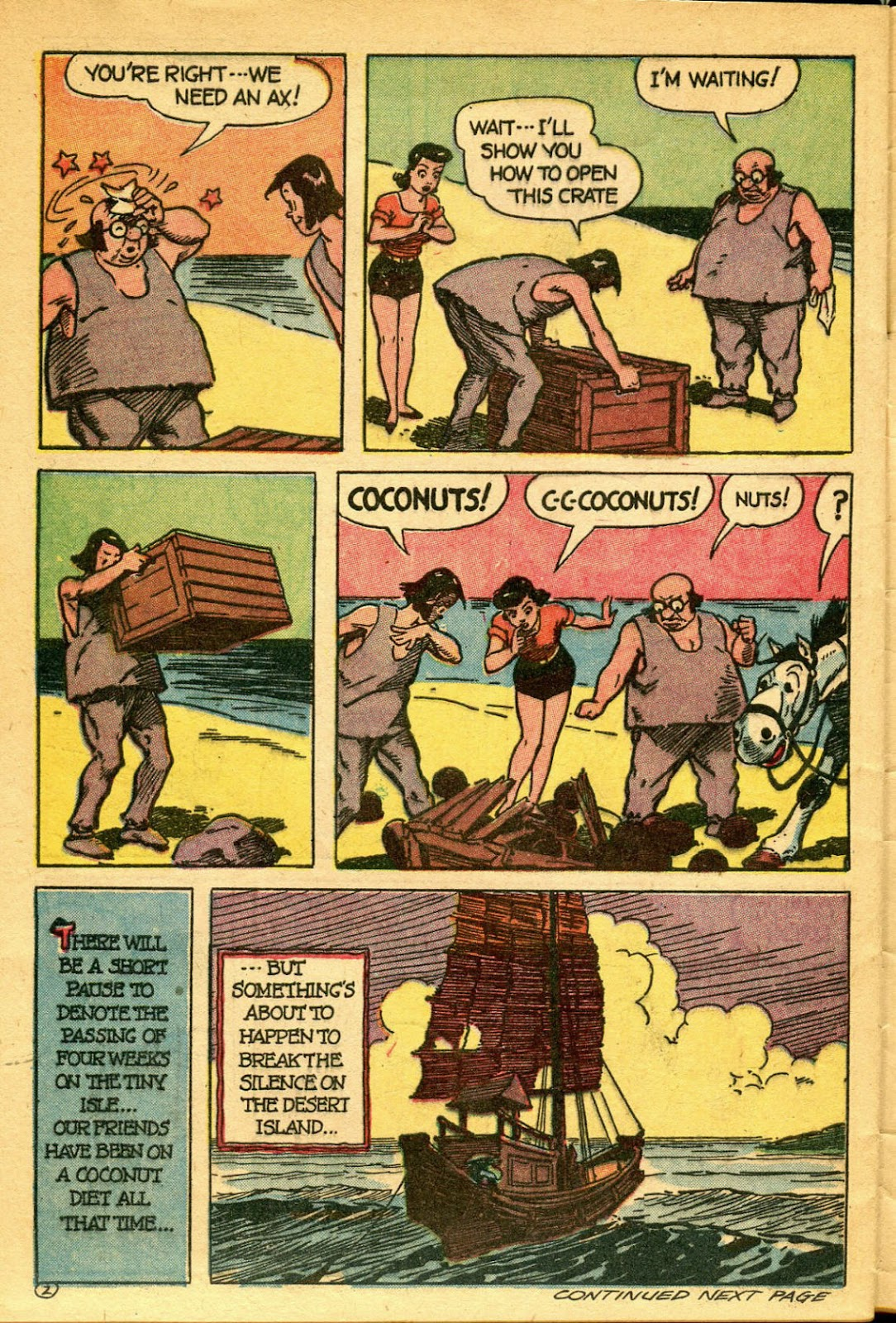 Read online Famous Funnies comic -  Issue #134 - 32