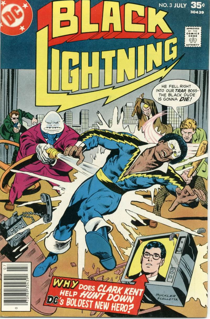 Black Lightning (1977) issue 3 - Page 1