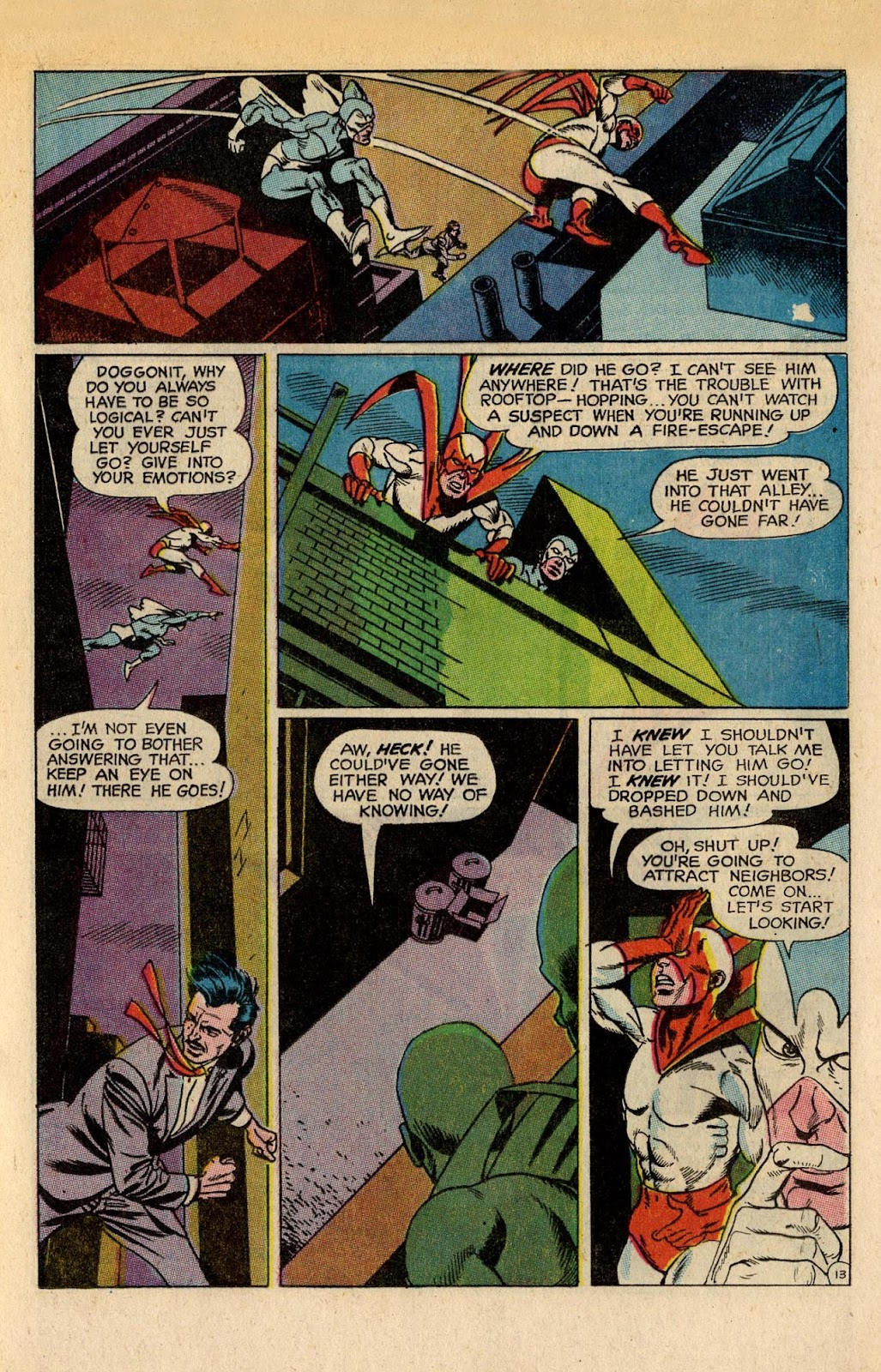 The Hawk and the Dove issue 5 - Page 17