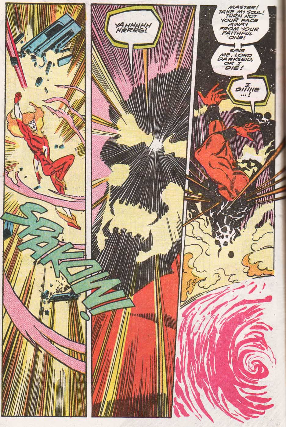 Firestorm, the Nuclear Man Issue #100 #36 - English 45
