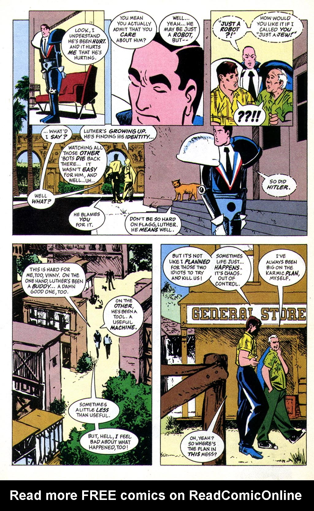 Read online American Flagg! comic -  Issue #43 - 6