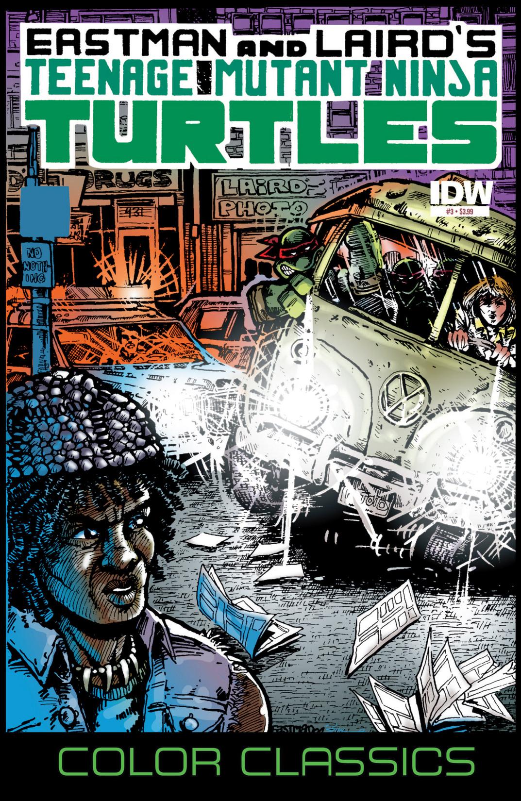 Teenage Mutant Ninja Turtles Color Classics (2012) issue 3 - Page 1