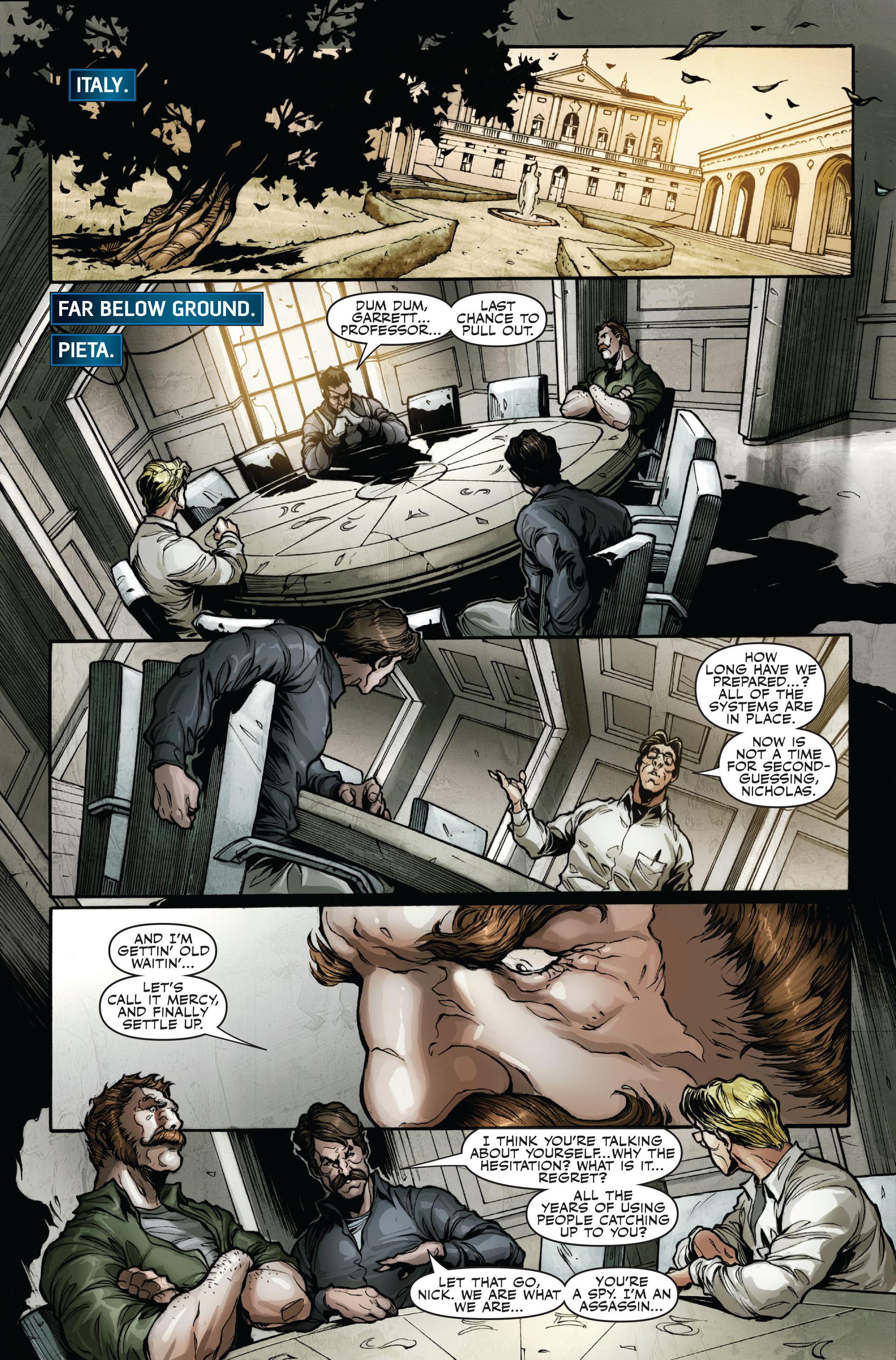 Read online Secret Warriors comic -  Issue #16 - 20