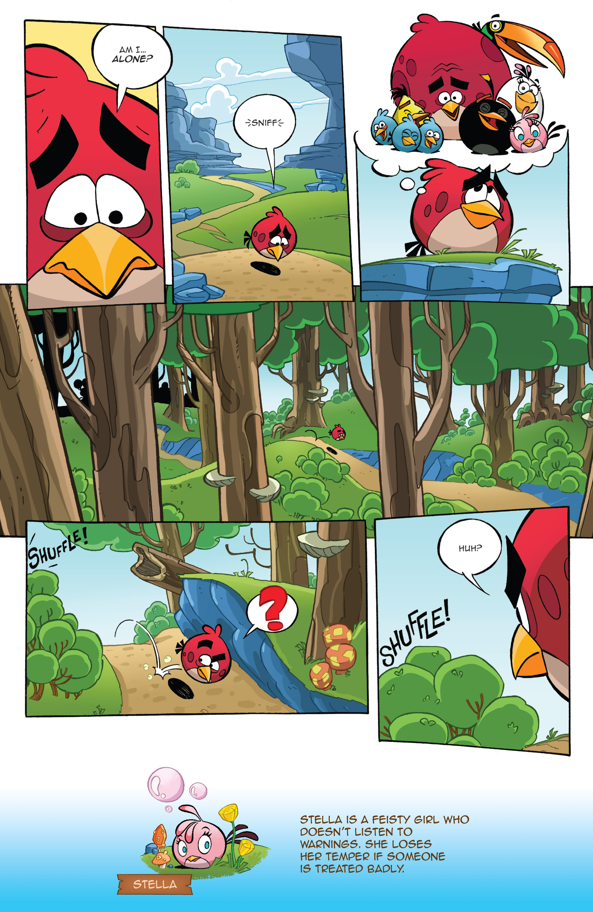 Read online Angry Birds Comics (2016) comic -  Issue #1 - 11