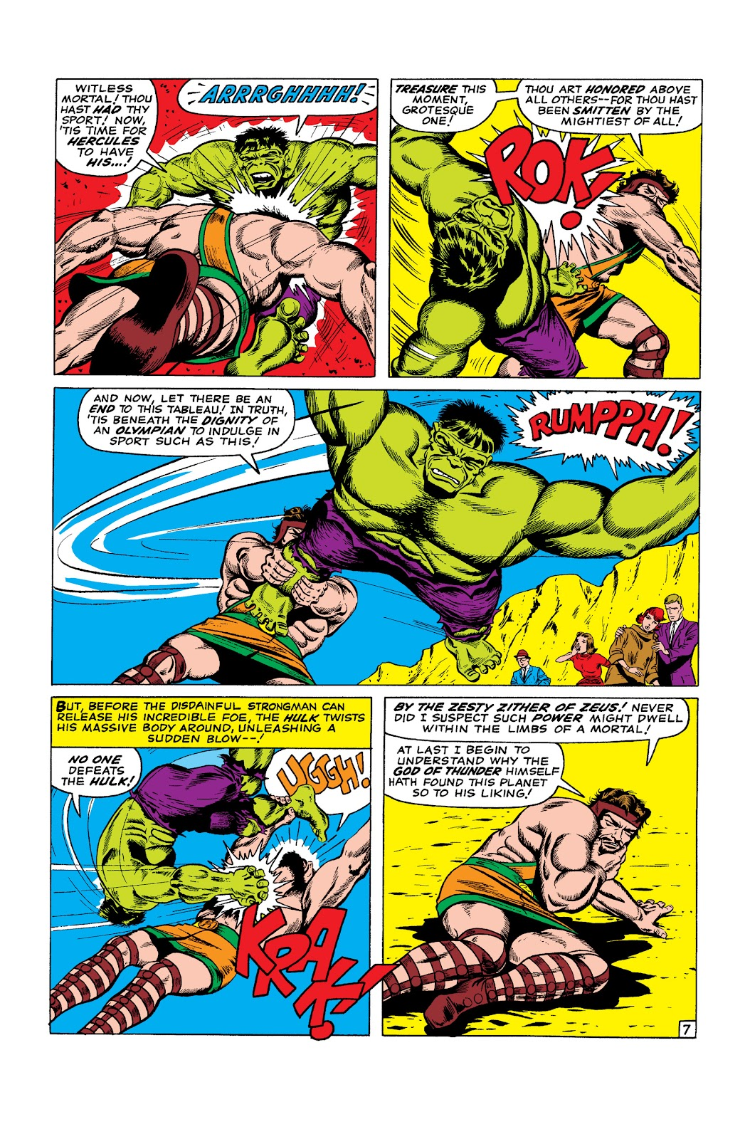 Read online Marvel Masterworks: The Incredible Hulk comic -  Issue # TPB 2 (Part 3) - 40