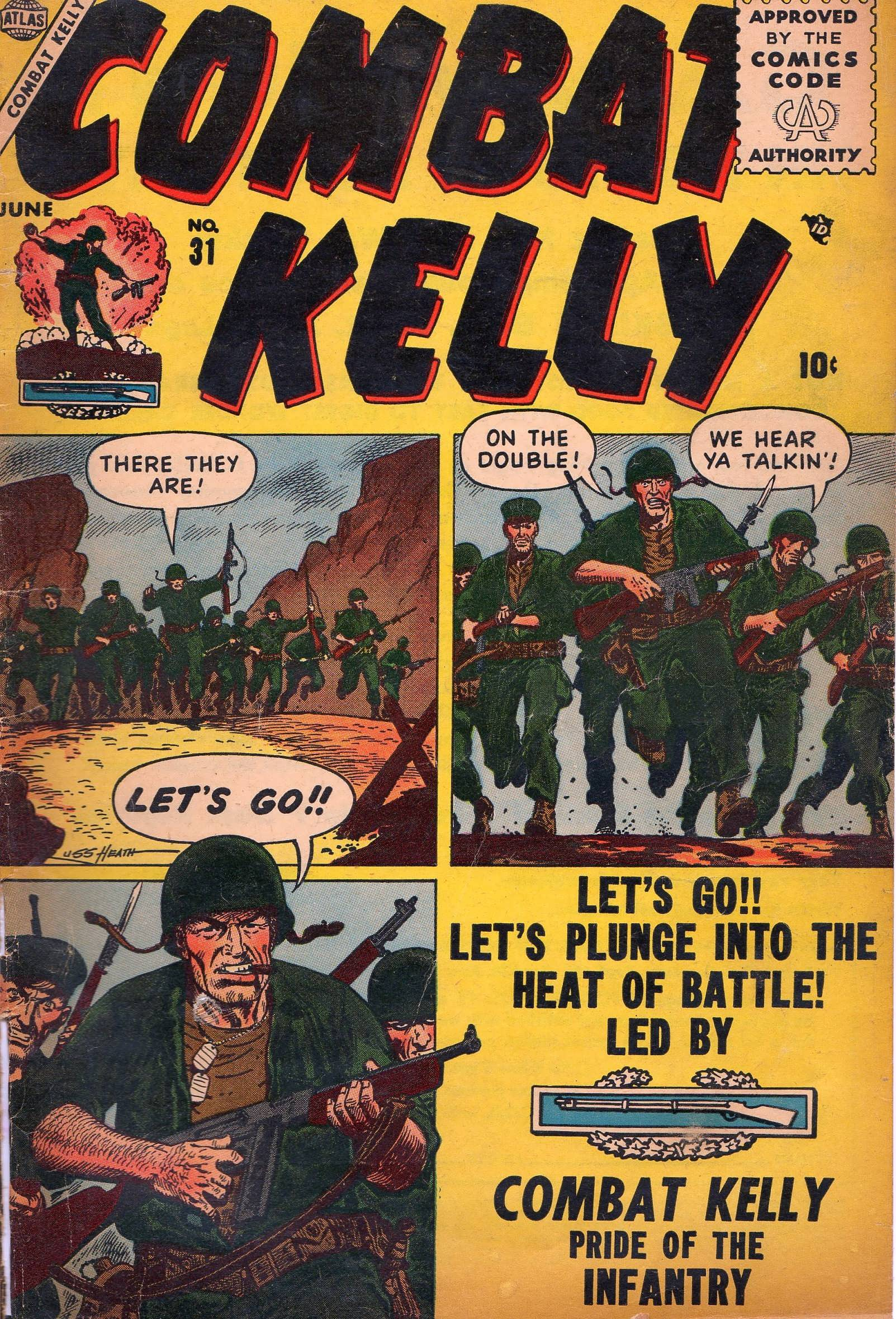 Combat Kelly (1951) 31 Page 1