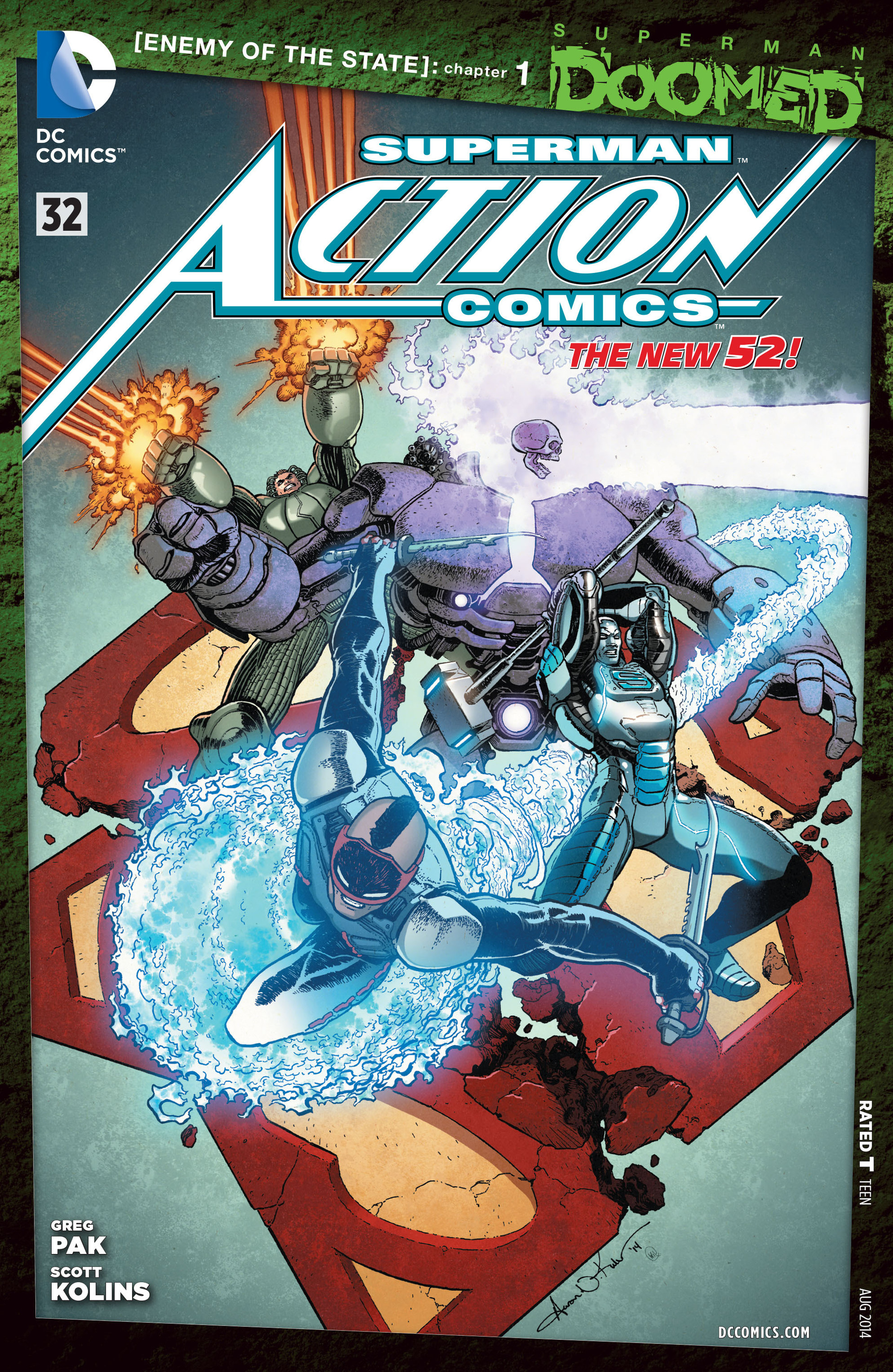 Read online Action Comics (2011) comic -  Issue #32 - 1