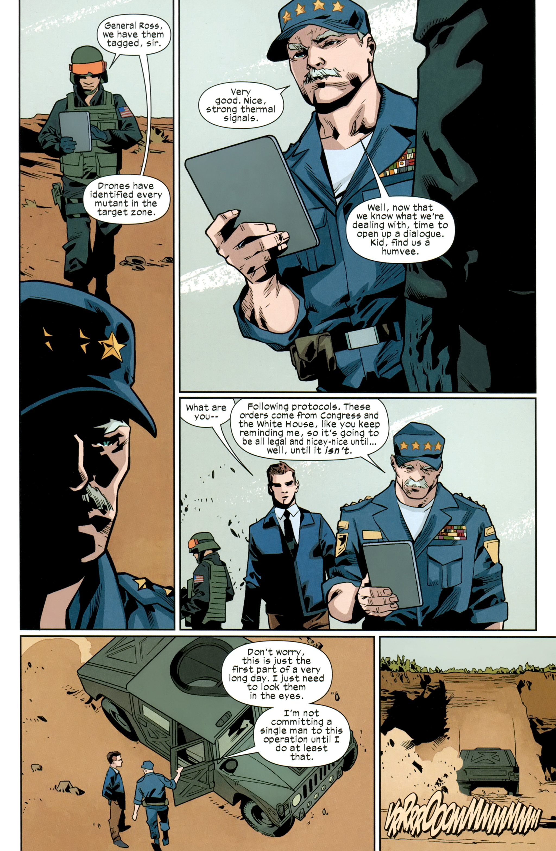 Read online Ultimate Comics X-Men comic -  Issue #26 - 10