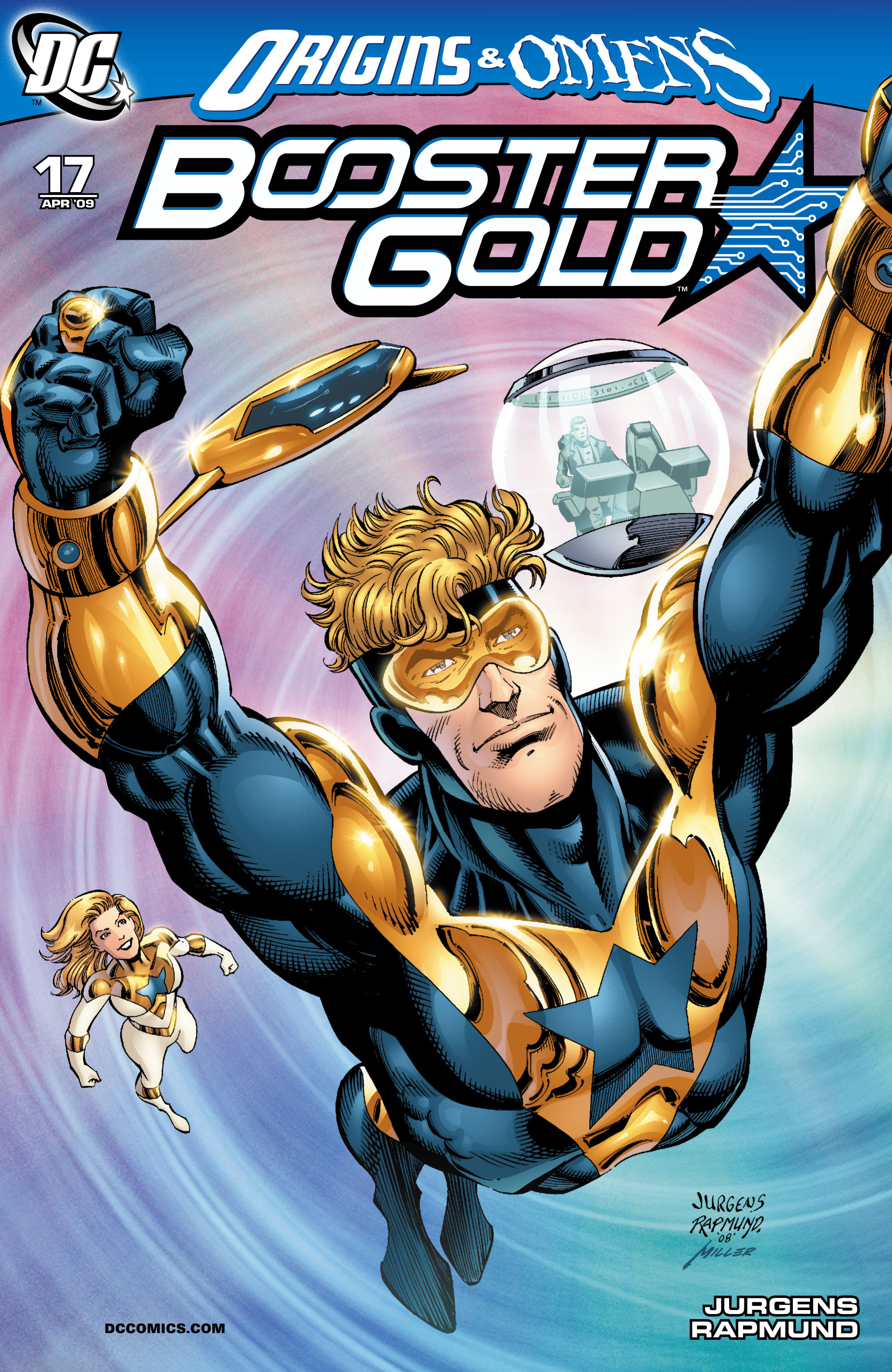 Booster Gold 2007 Issue 17