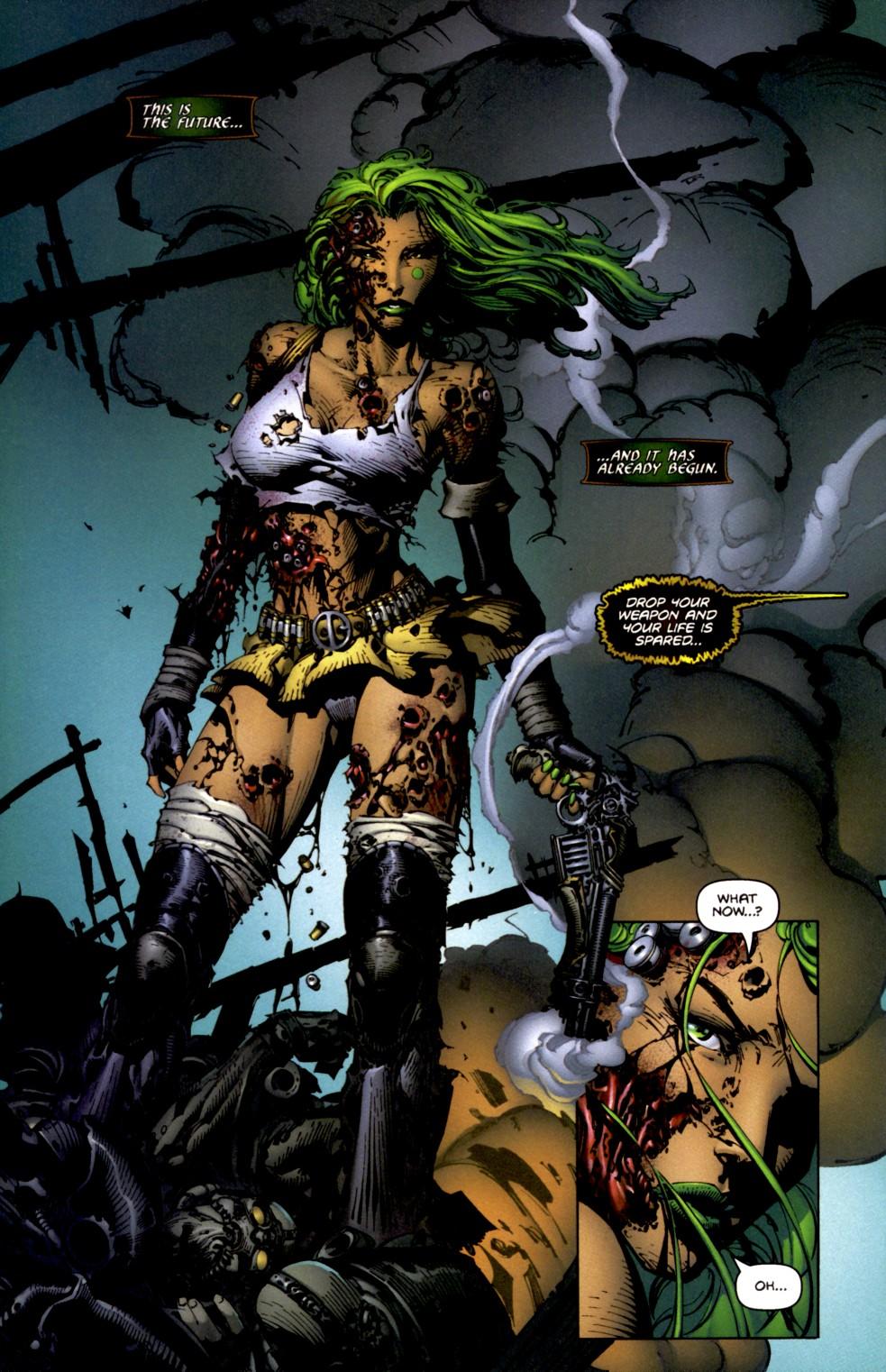 Read online Aphrodite IX (2000) comic -  Issue #2 - 22