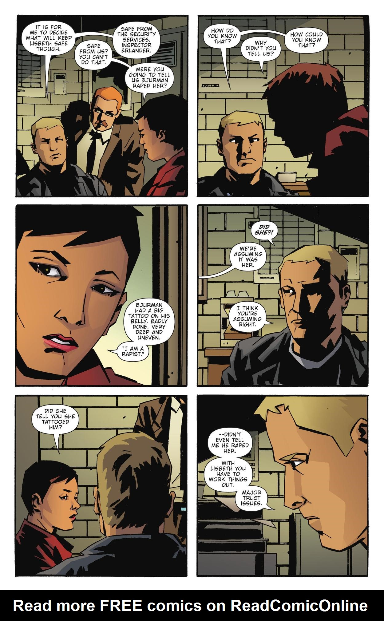 Read online The Girl Who Kicked The Hornet's Nest comic -  Issue # TPB - 21