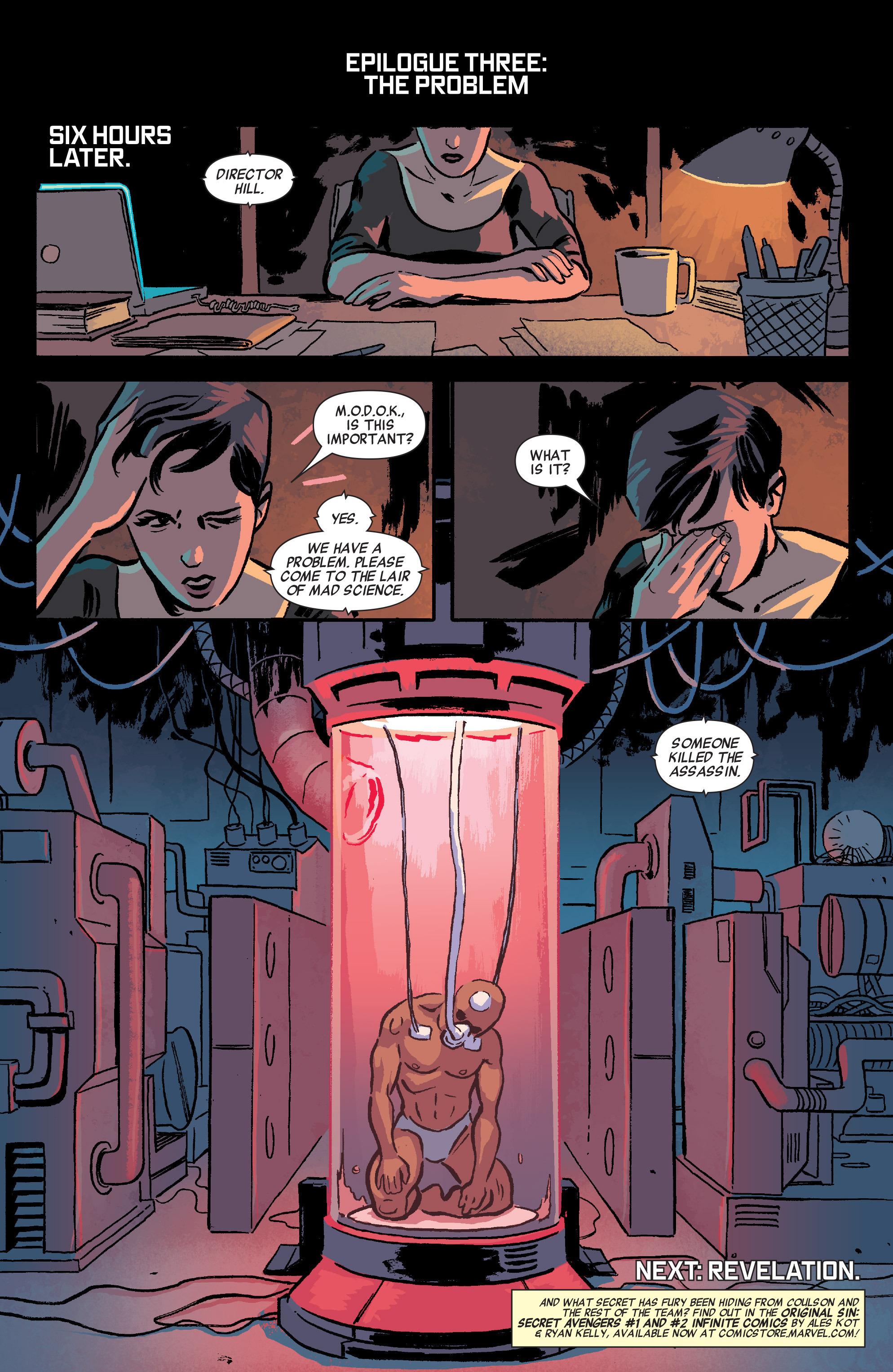 Read online Secret Avengers (2014) comic -  Issue #4 - 22