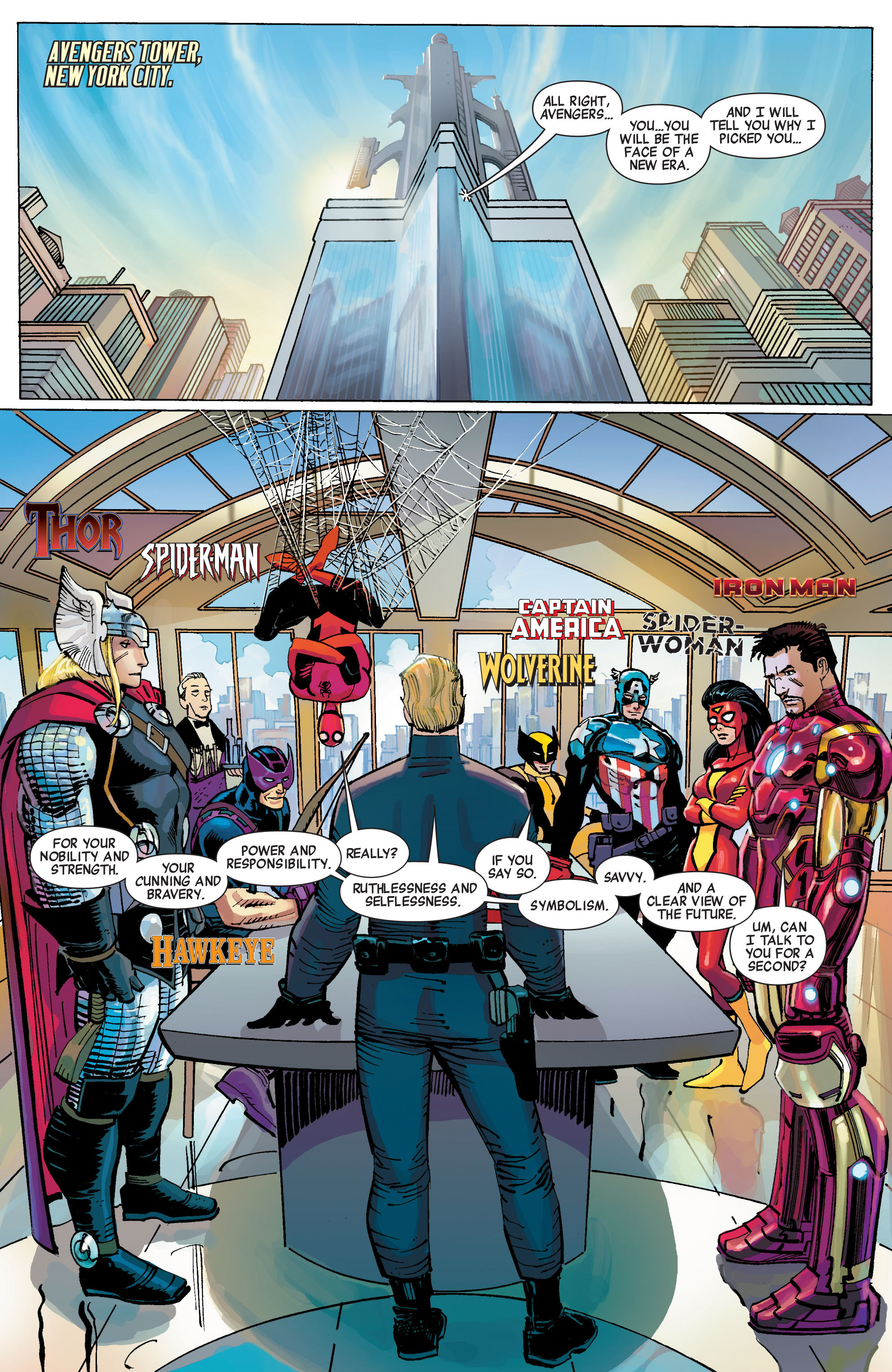 Read online Avengers (2010) comic -  Issue #1 - 7