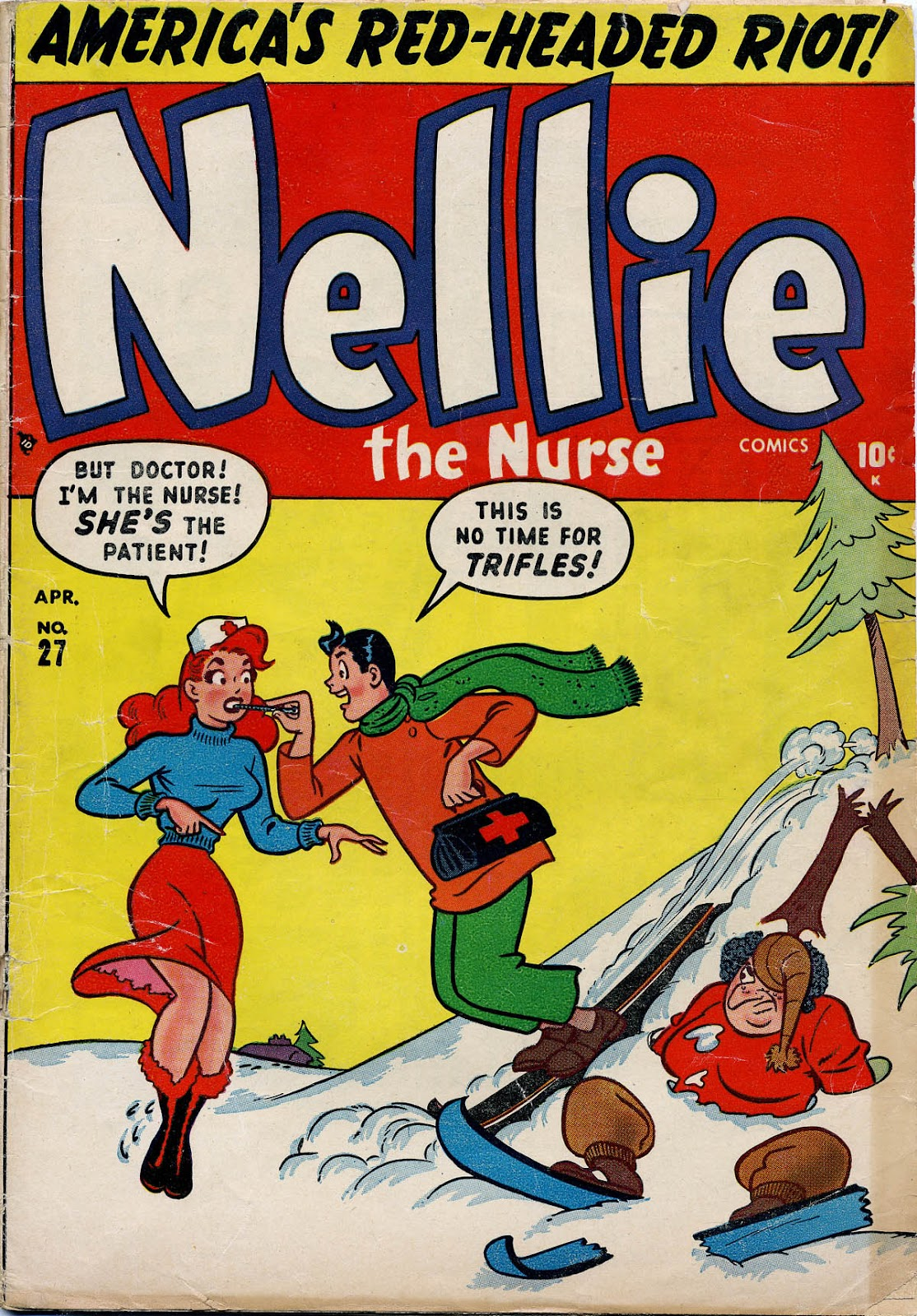 Nellie The Nurse (1945) issue 27 - Page 1