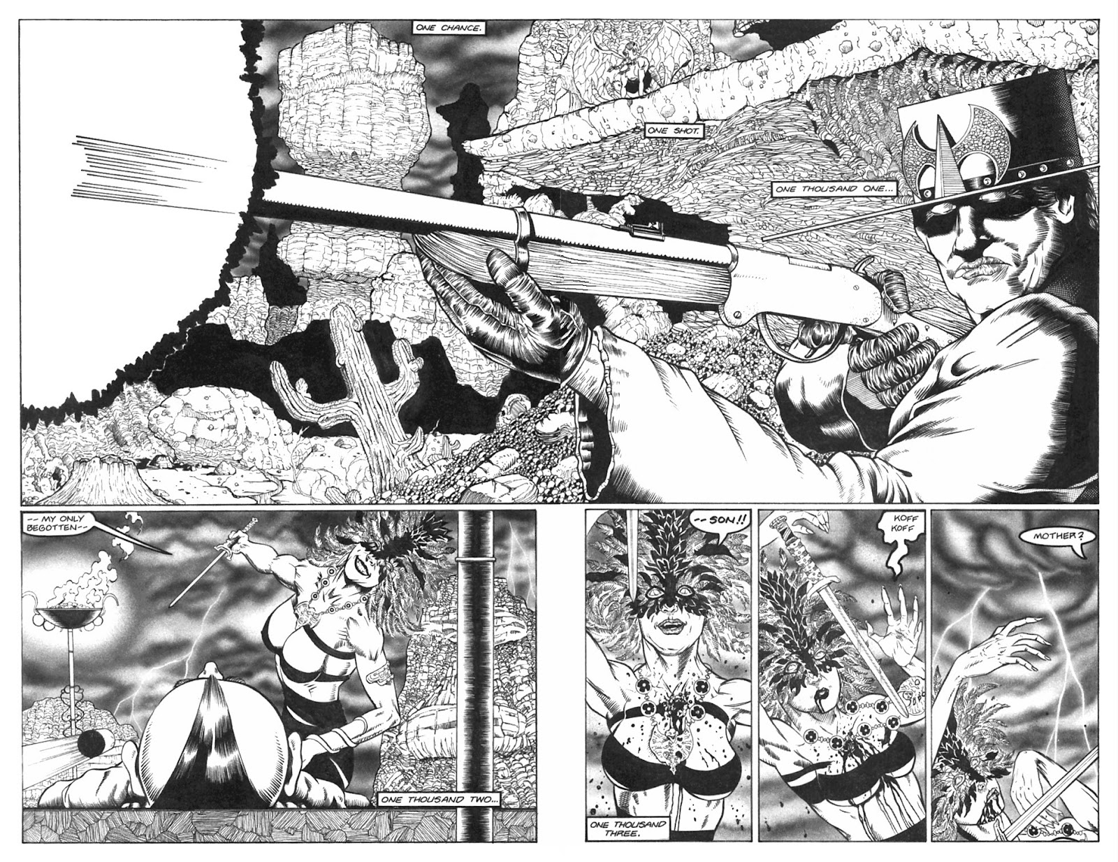 Read online Gunfighters in Hell comic -  Issue #2 - 20