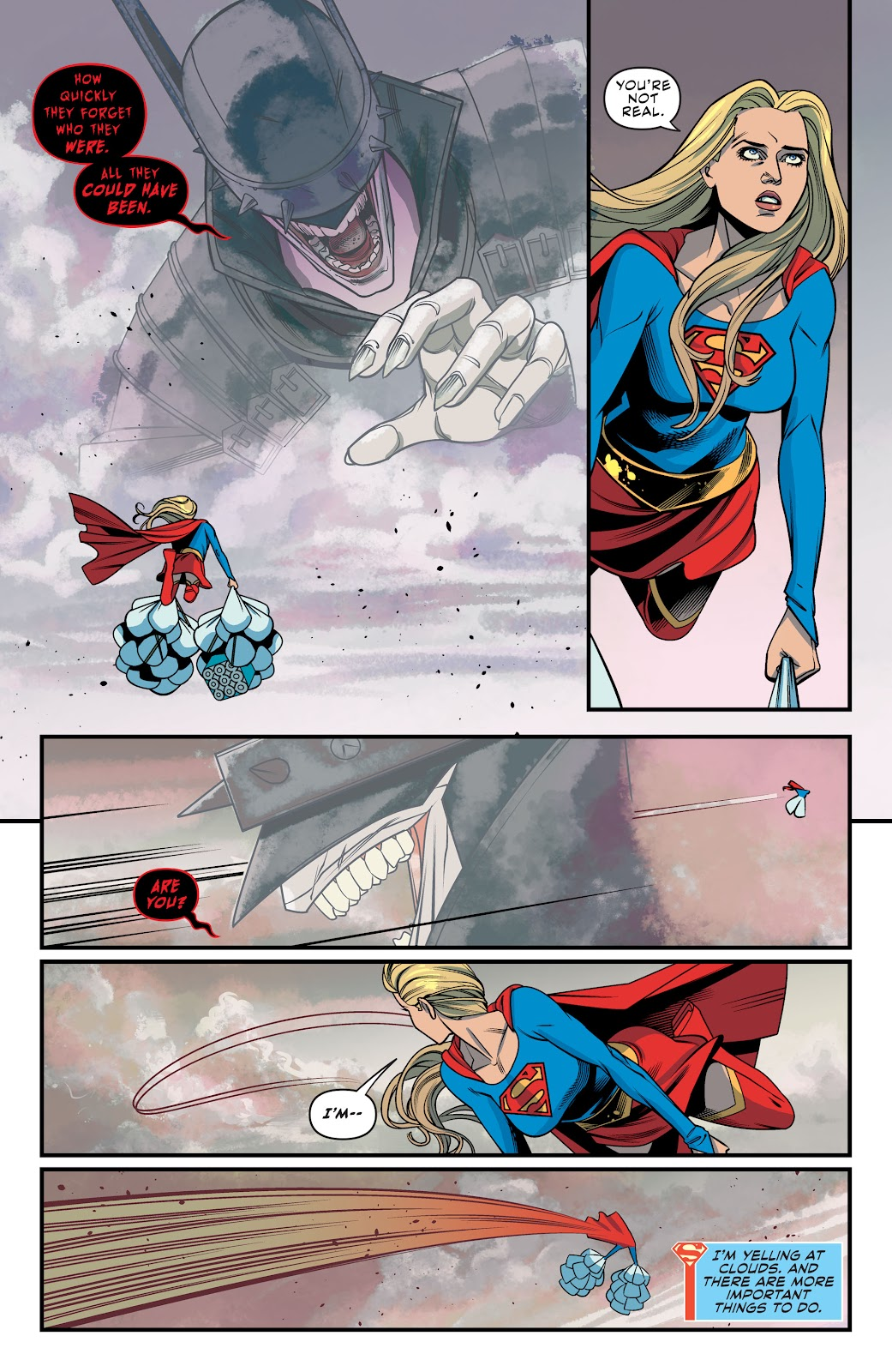 Read online Supergirl (2016) comic -  Issue #41 - 17