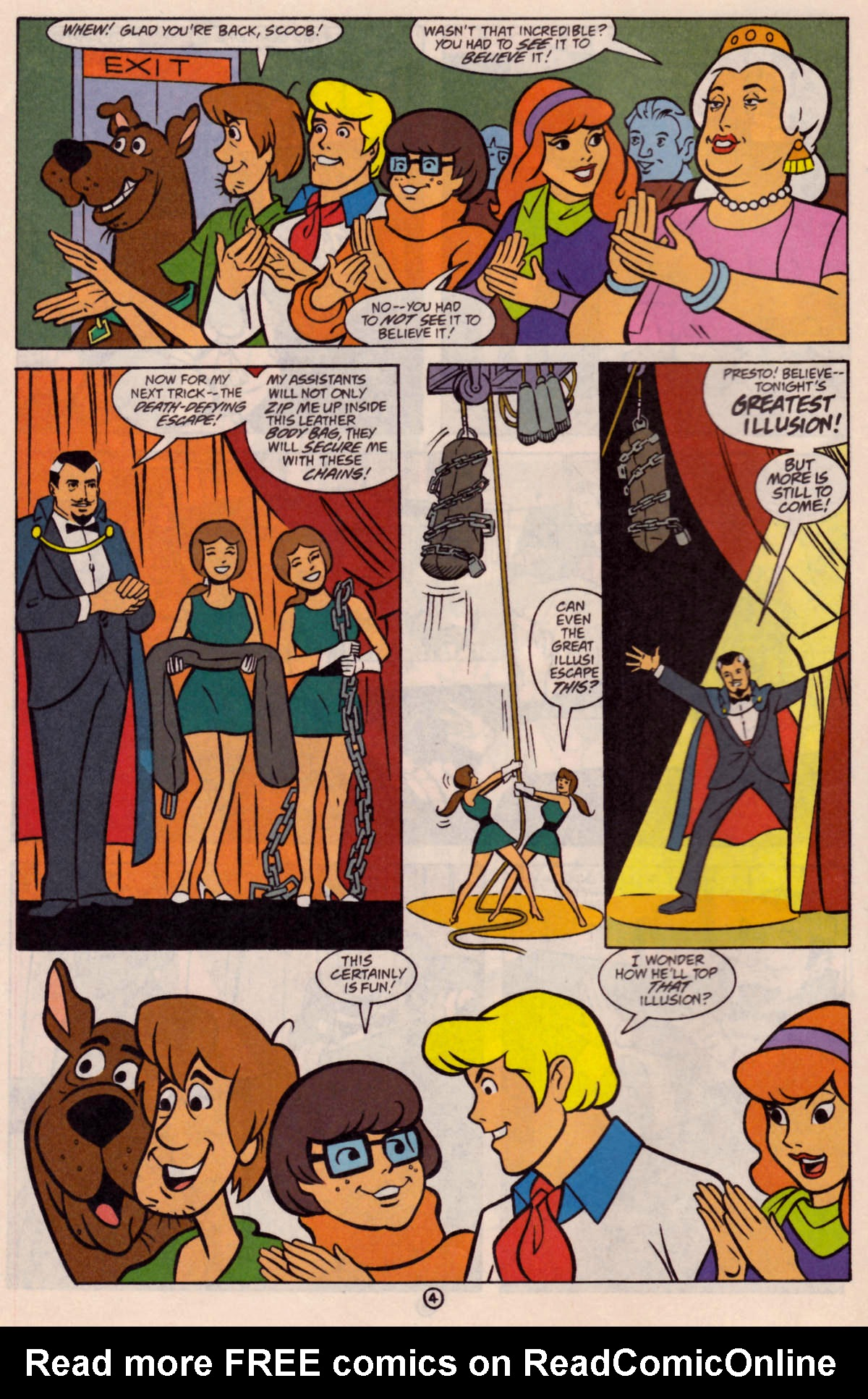 Read online Scooby-Doo (1997) comic -  Issue #24 - 5