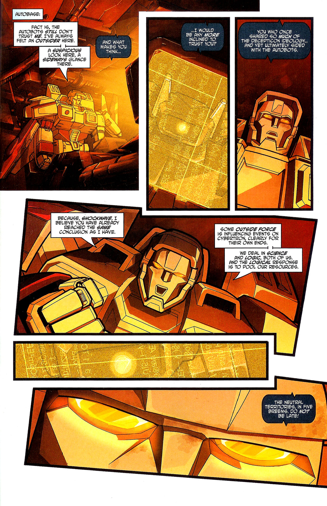 """Read online Transformers War Within: """"The Dark Ages"""" comic -  Issue #3 - 18"""