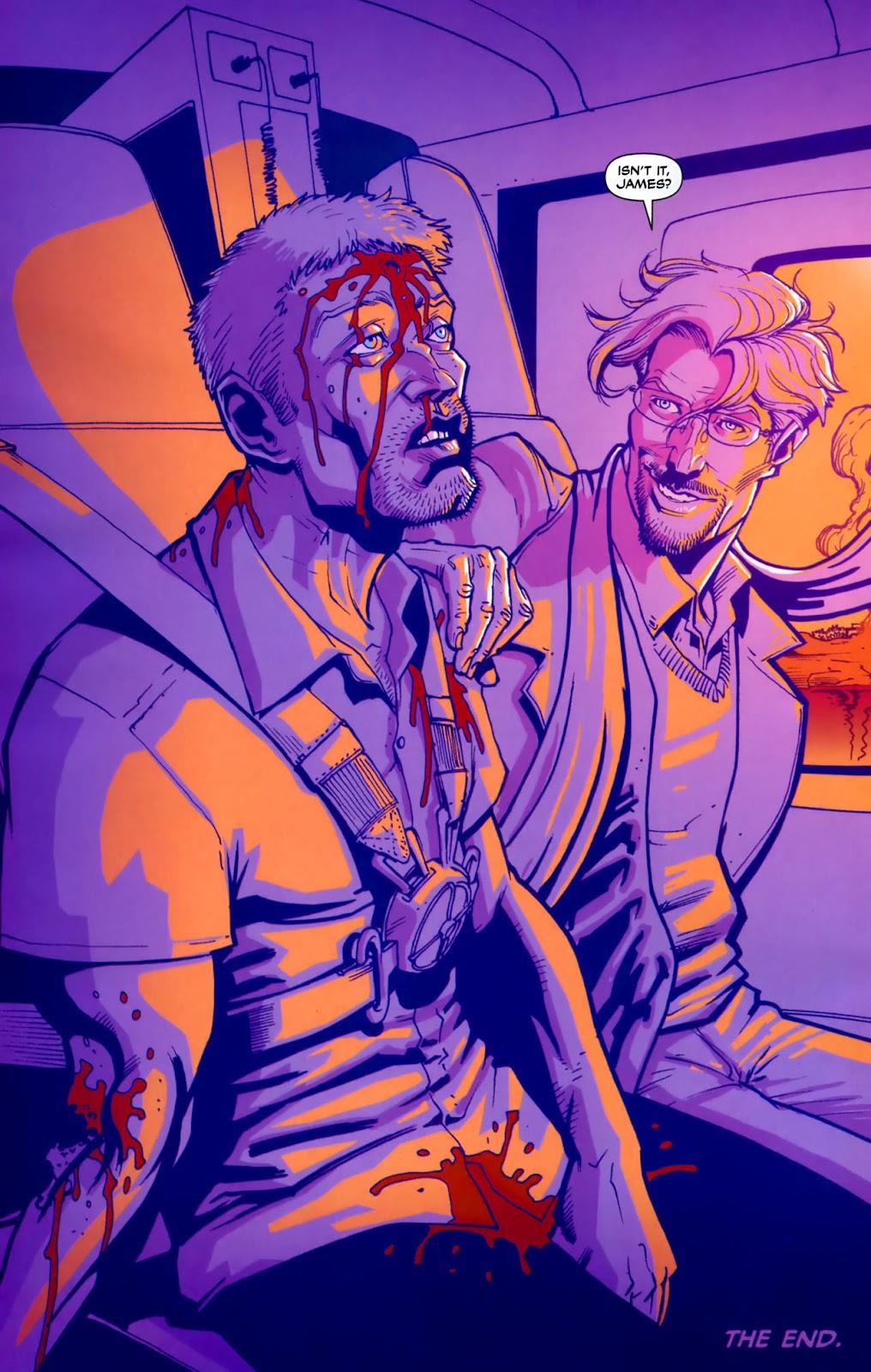 Read online Lazarus (2007) comic -  Issue #3 - 24