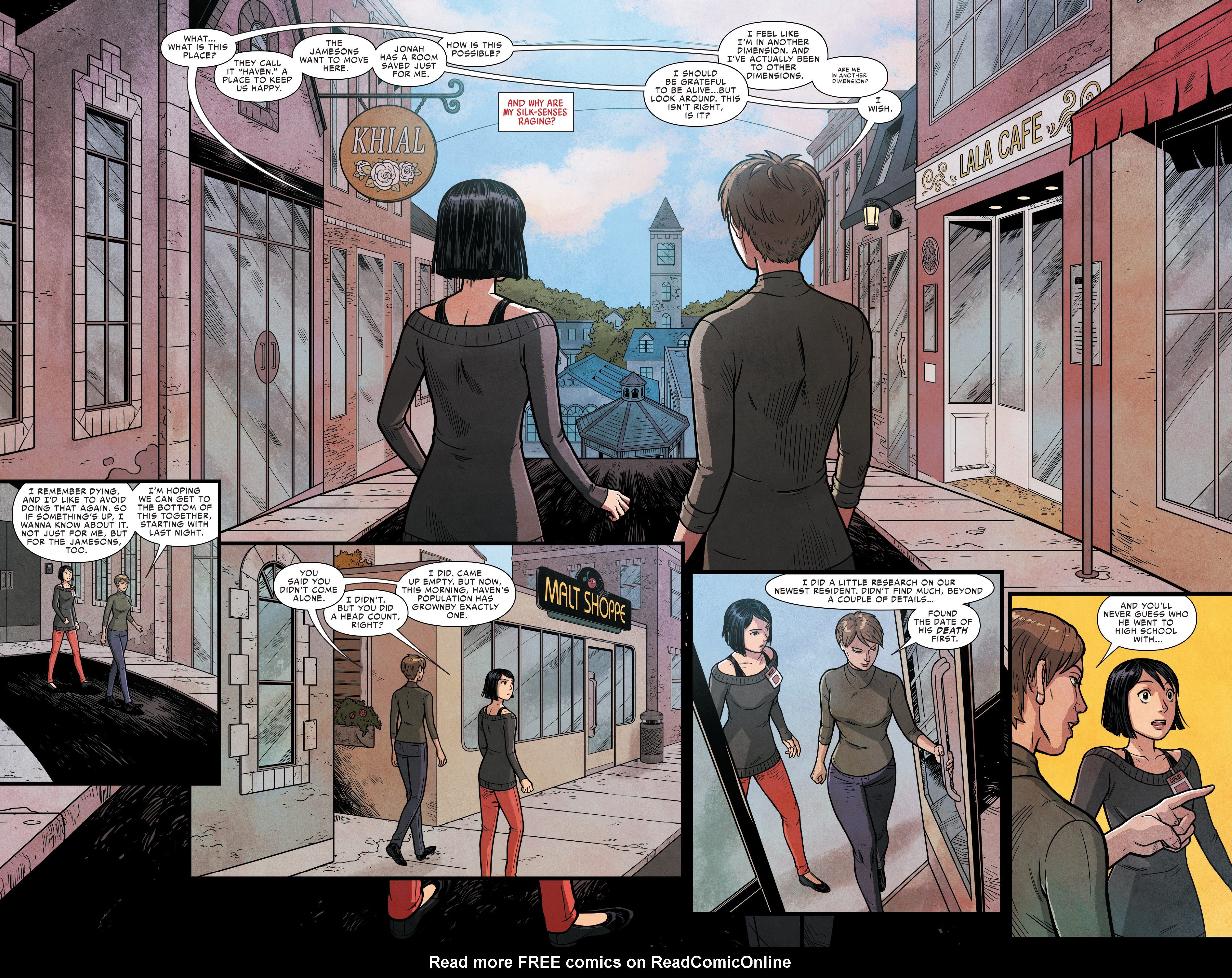 Read online Silk (2016) comic -  Issue #16 - 8
