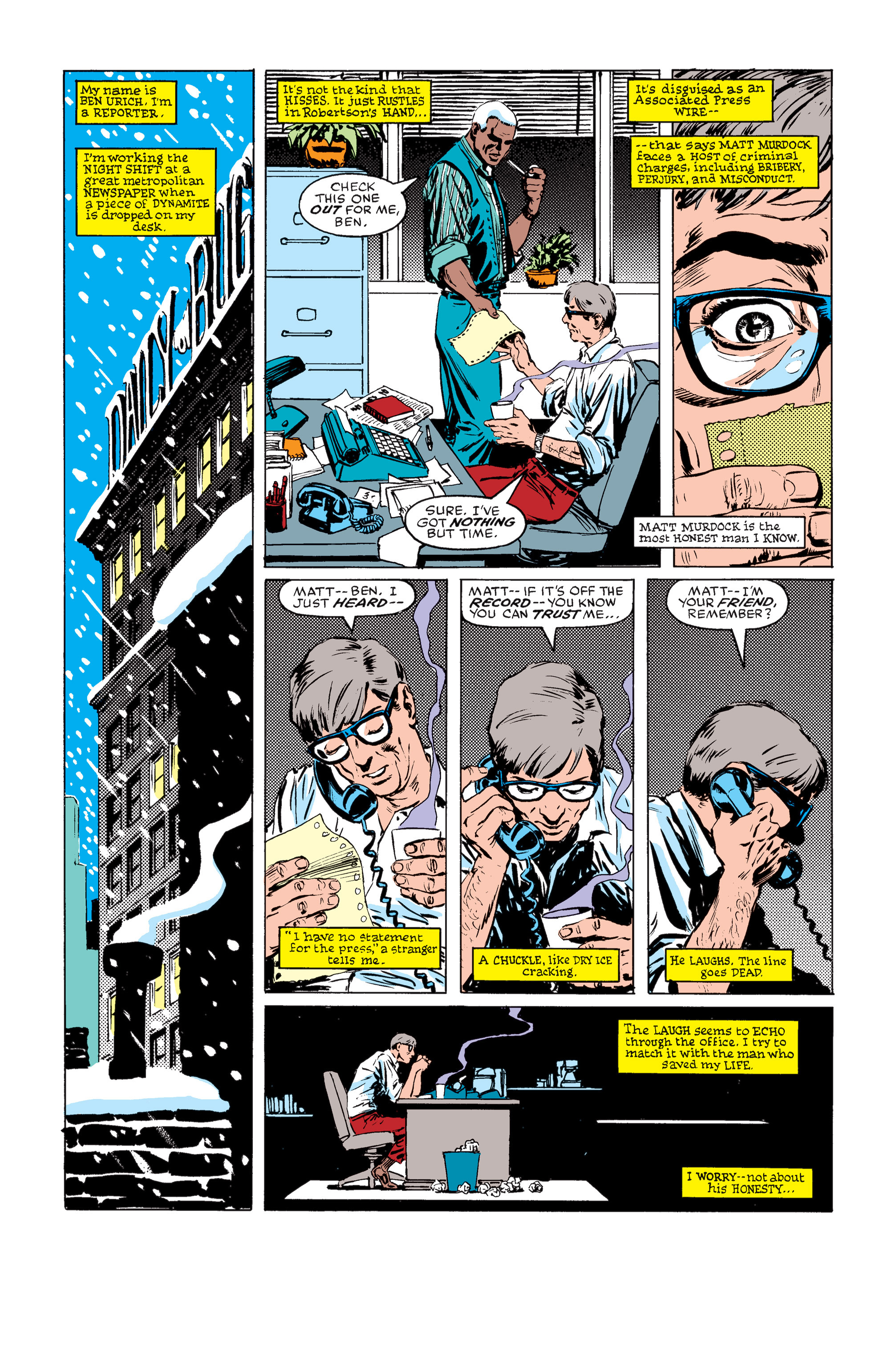 Read online Daredevil: Born Again comic -  Issue # Full - 38
