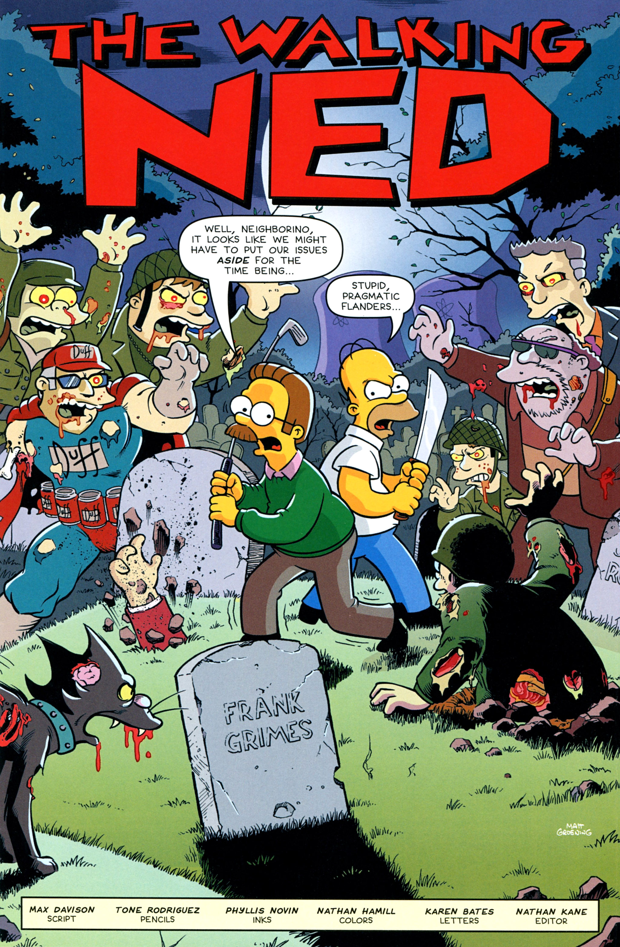Read online Treehouse of Horror comic -  Issue #20 - 13
