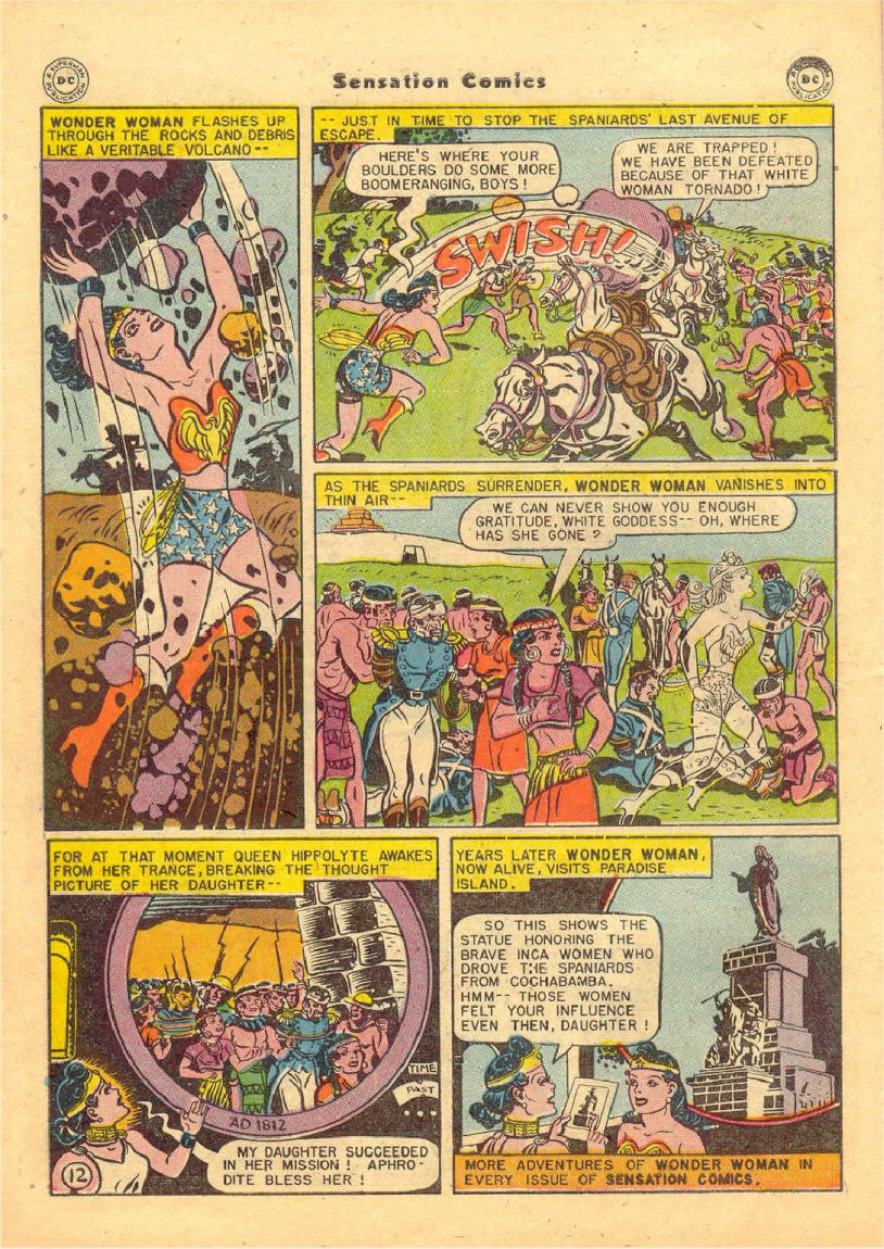 Read online Sensation (Mystery) Comics comic -  Issue #70 - 13
