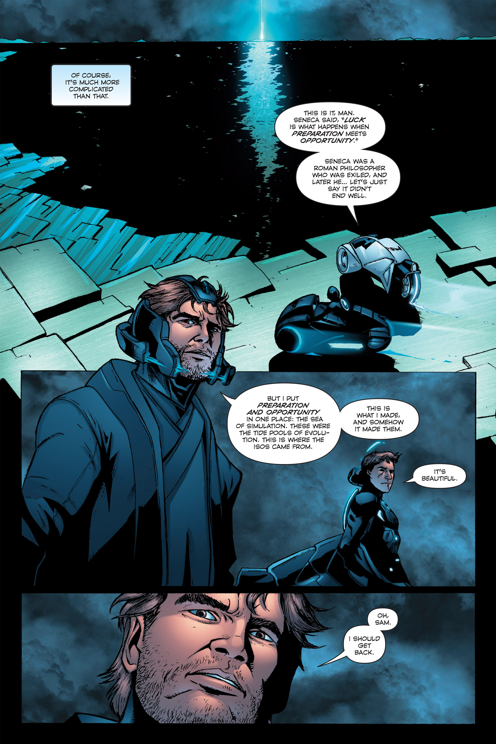 Read online TRON: Betrayal comic -  Issue # TPB - 74