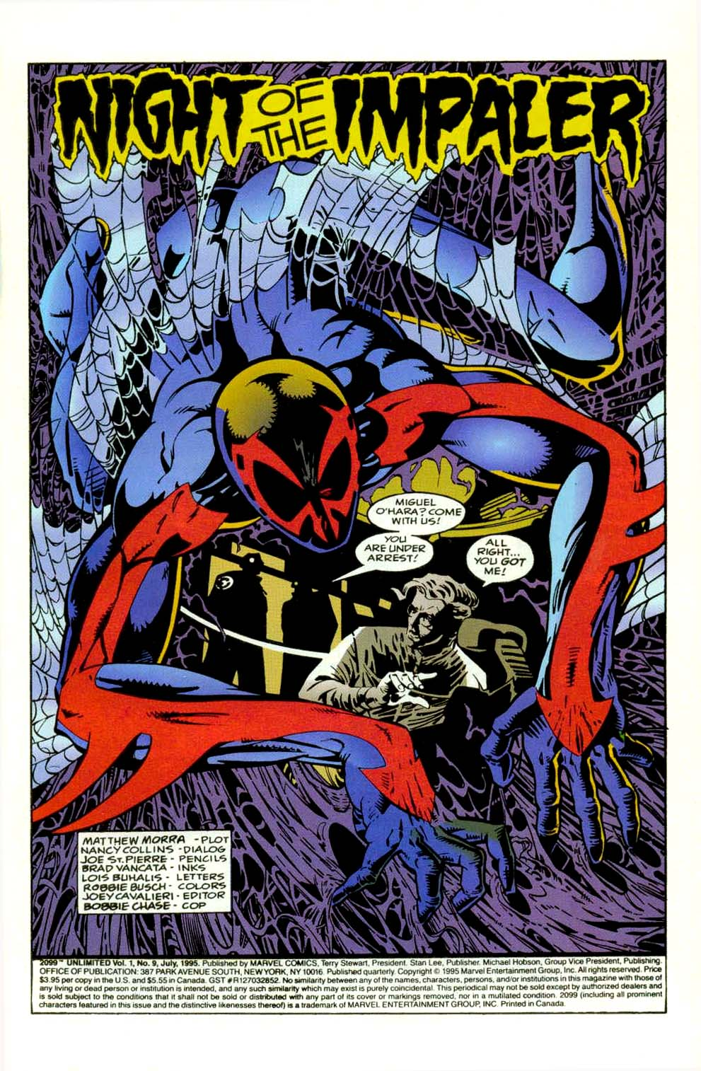 Read online 2099 Unlimited comic -  Issue #9 - 2