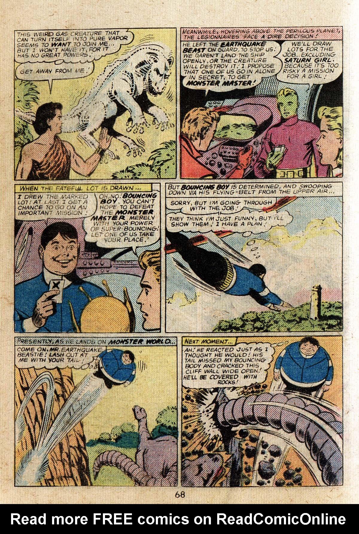 Read online Adventure Comics (1938) comic -  Issue #500 - 68