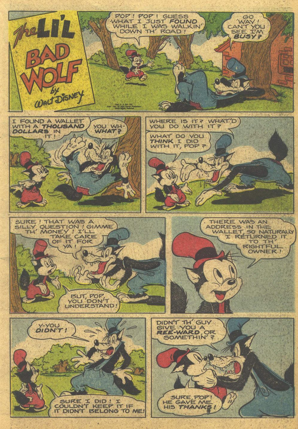 Walt Disney's Comics and Stories issue 86 - Page 21