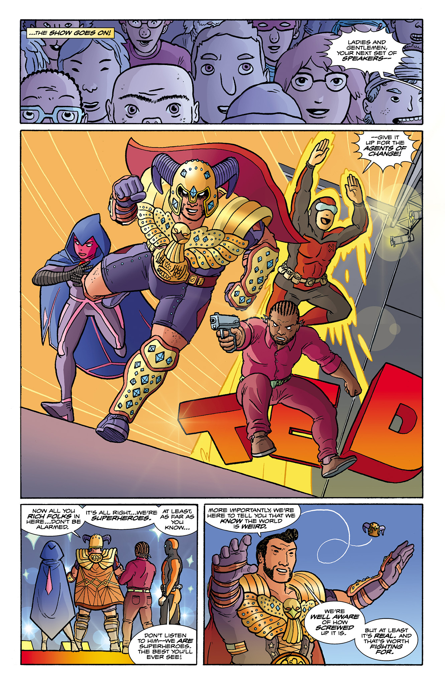 Read online Catalyst Comix comic -  Issue #9 - 14