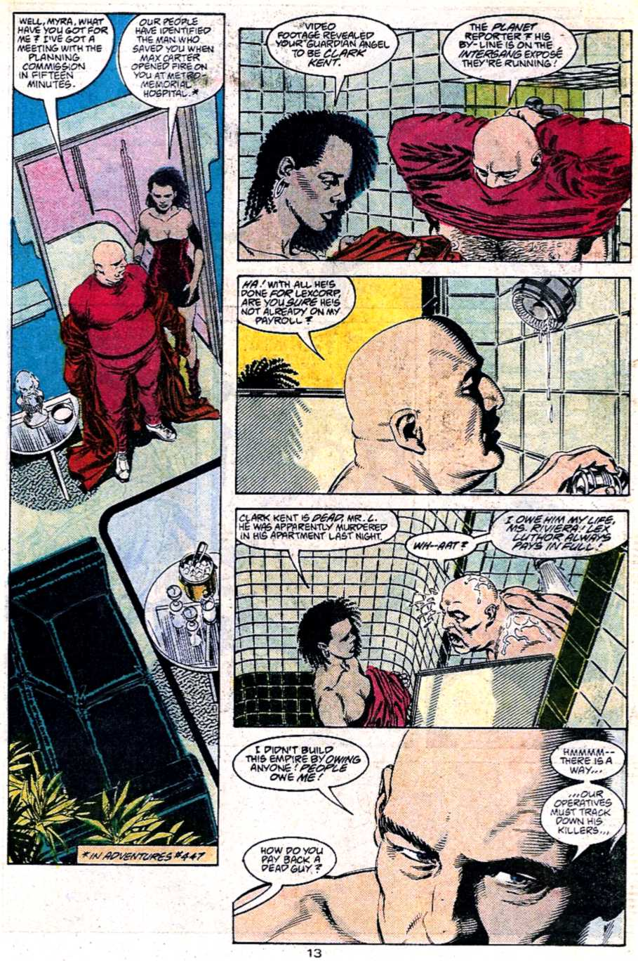 Read online Adventures of Superman (1987) comic -  Issue #451 - 14