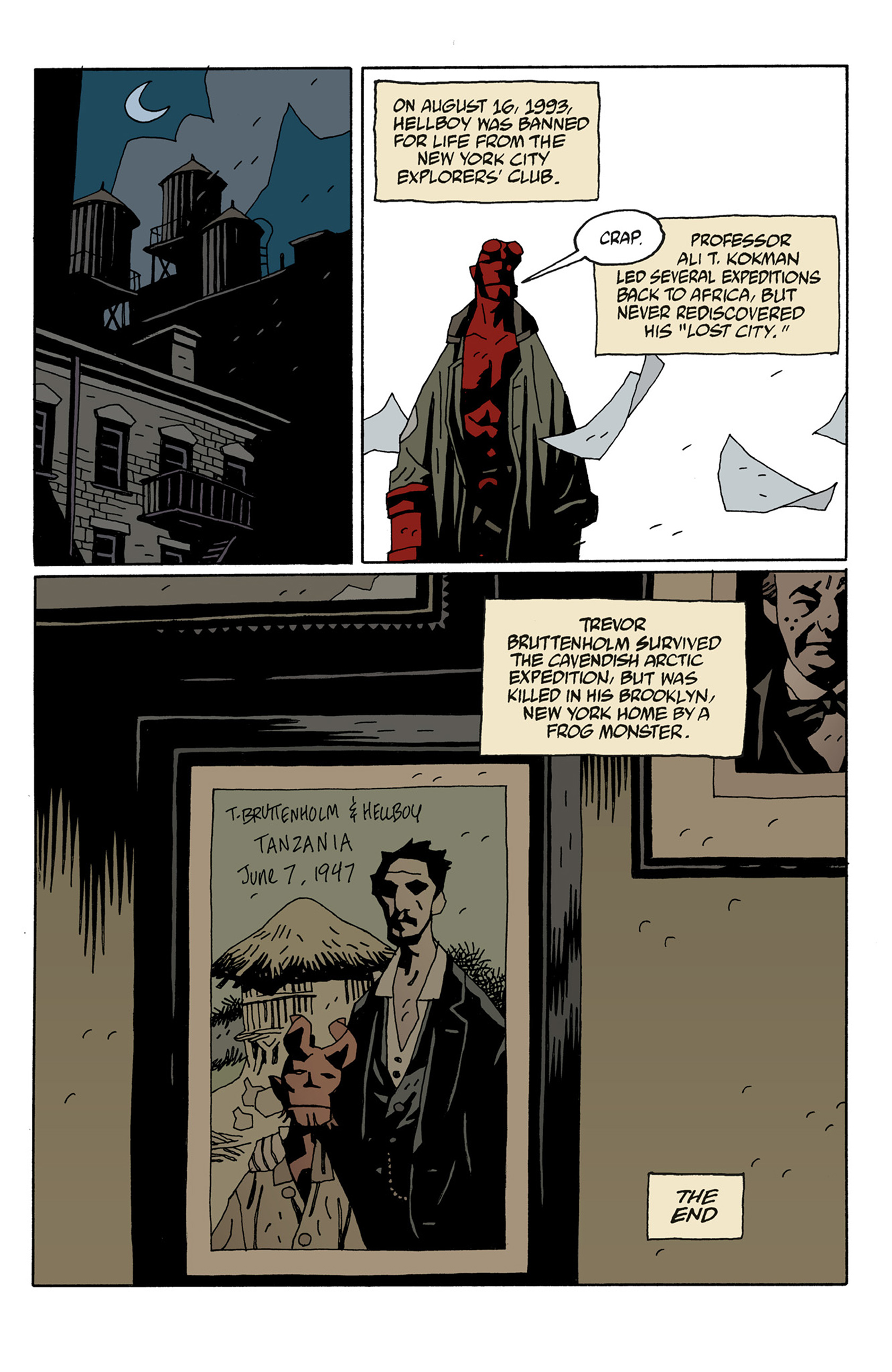 Read online Hellboy: The Troll Witch and Others comic -  Issue # TPB - 131