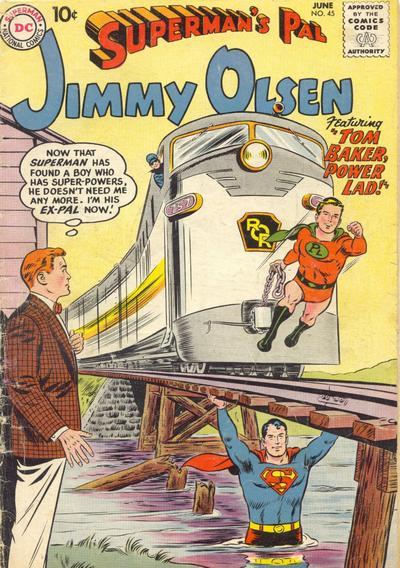 Supermans Pal Jimmy Olsen (1954) 45 Page 1