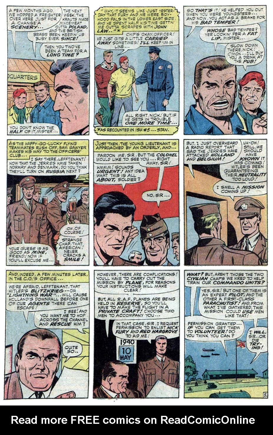 Read online Sgt. Fury comic -  Issue #101 - 8