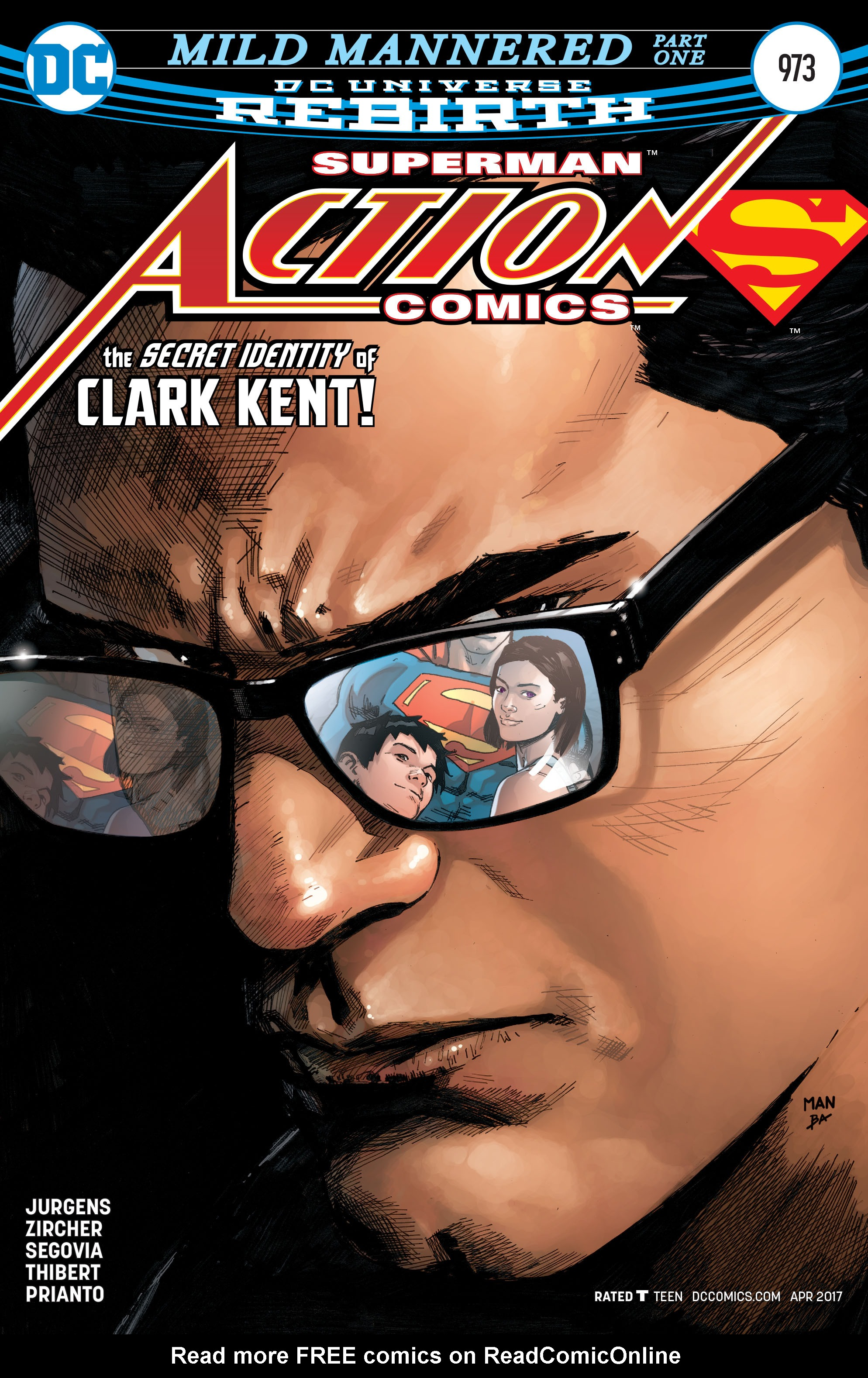 Read online Action Comics (2016) comic -  Issue #973 - 1
