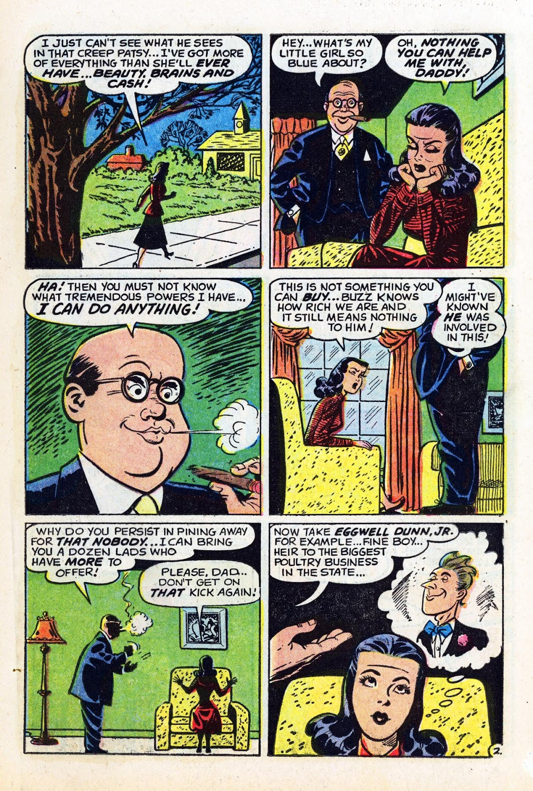Read online Patsy Walker comic -  Issue #58 - 11
