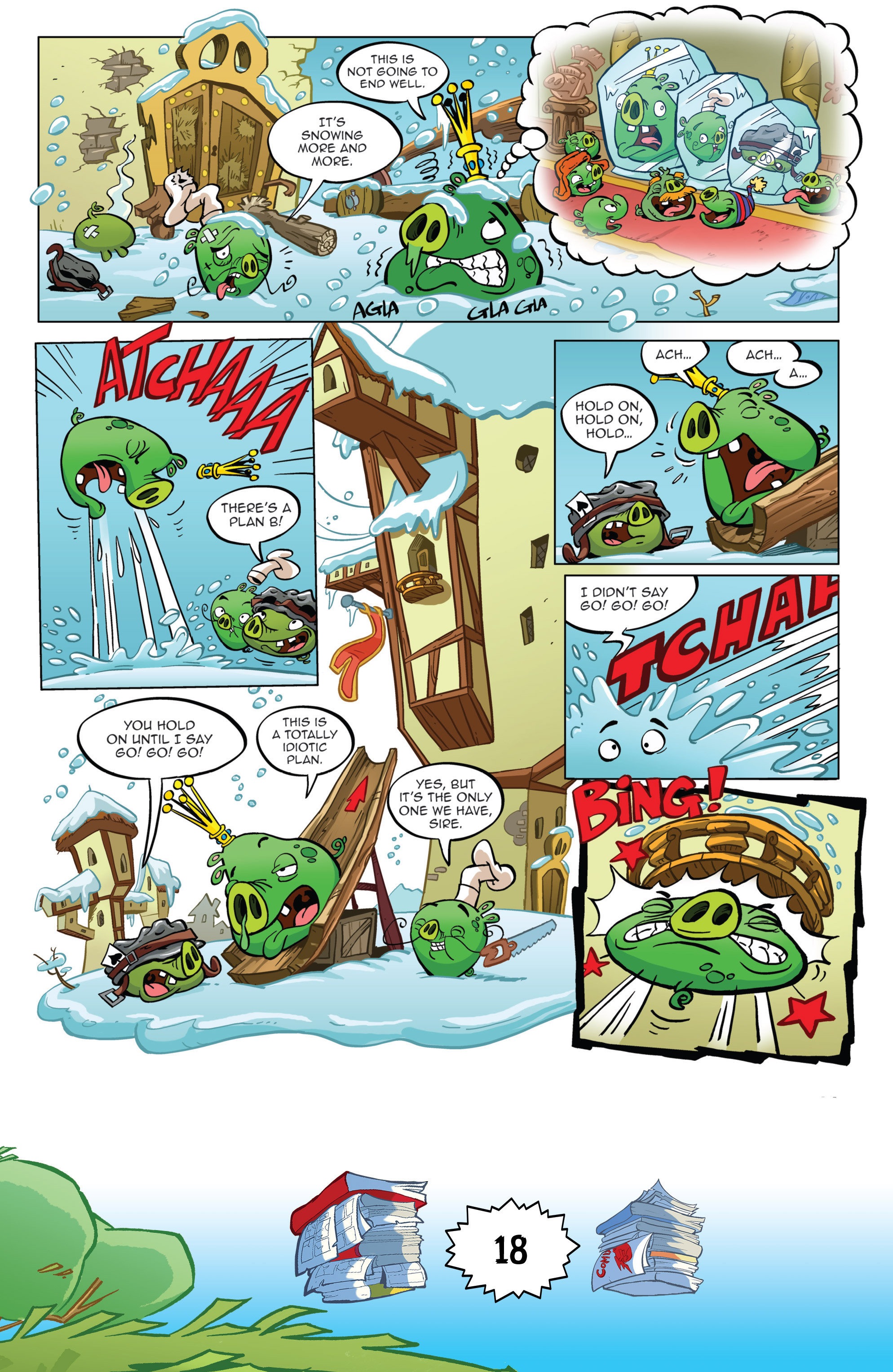 Read online Angry Birds Comics (2016) comic -  Issue #6 - 20