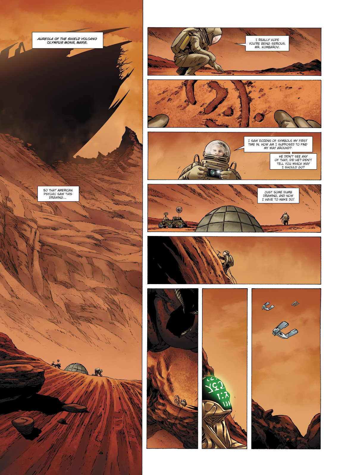 Read online Olympus Mons Vol. 1: Anomaly One comic -  Issue #4 - 37