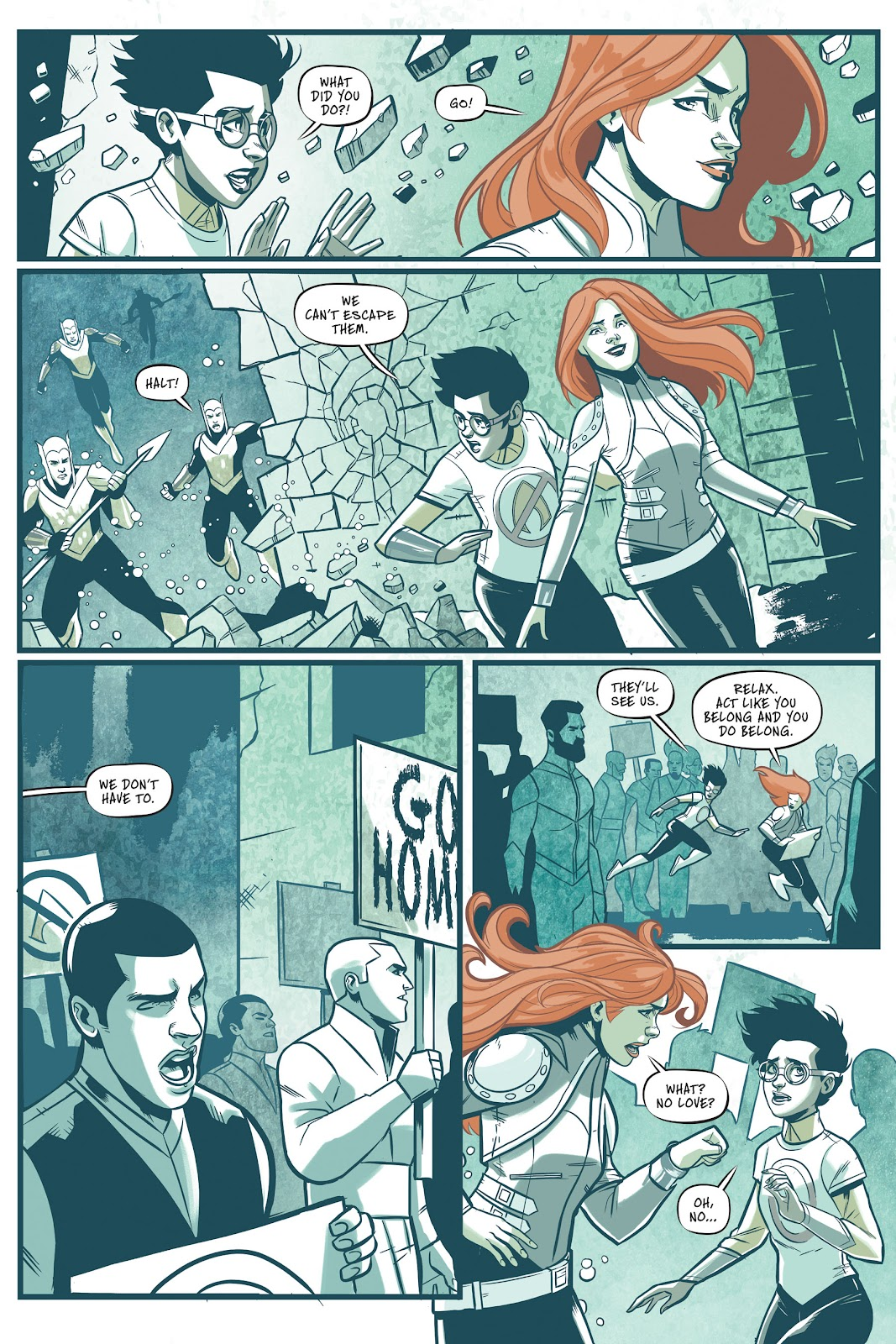 Read online Mera: Tidebreaker comic -  Issue # TPB (Part 1) - 16