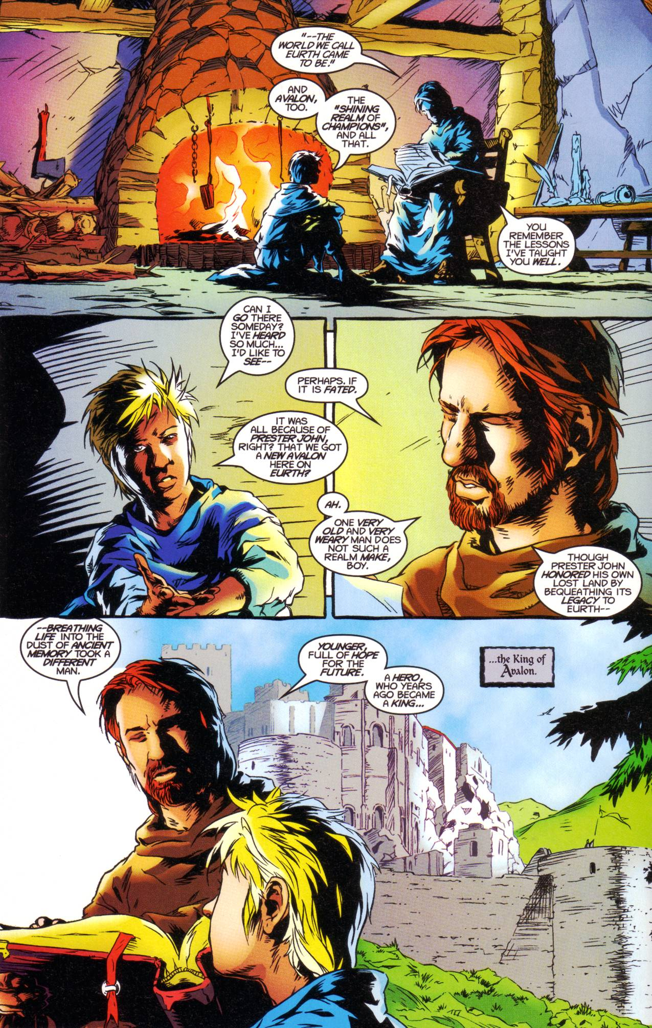 Read online Avataars: Covenant of the Shield comic -  Issue #1 - 6