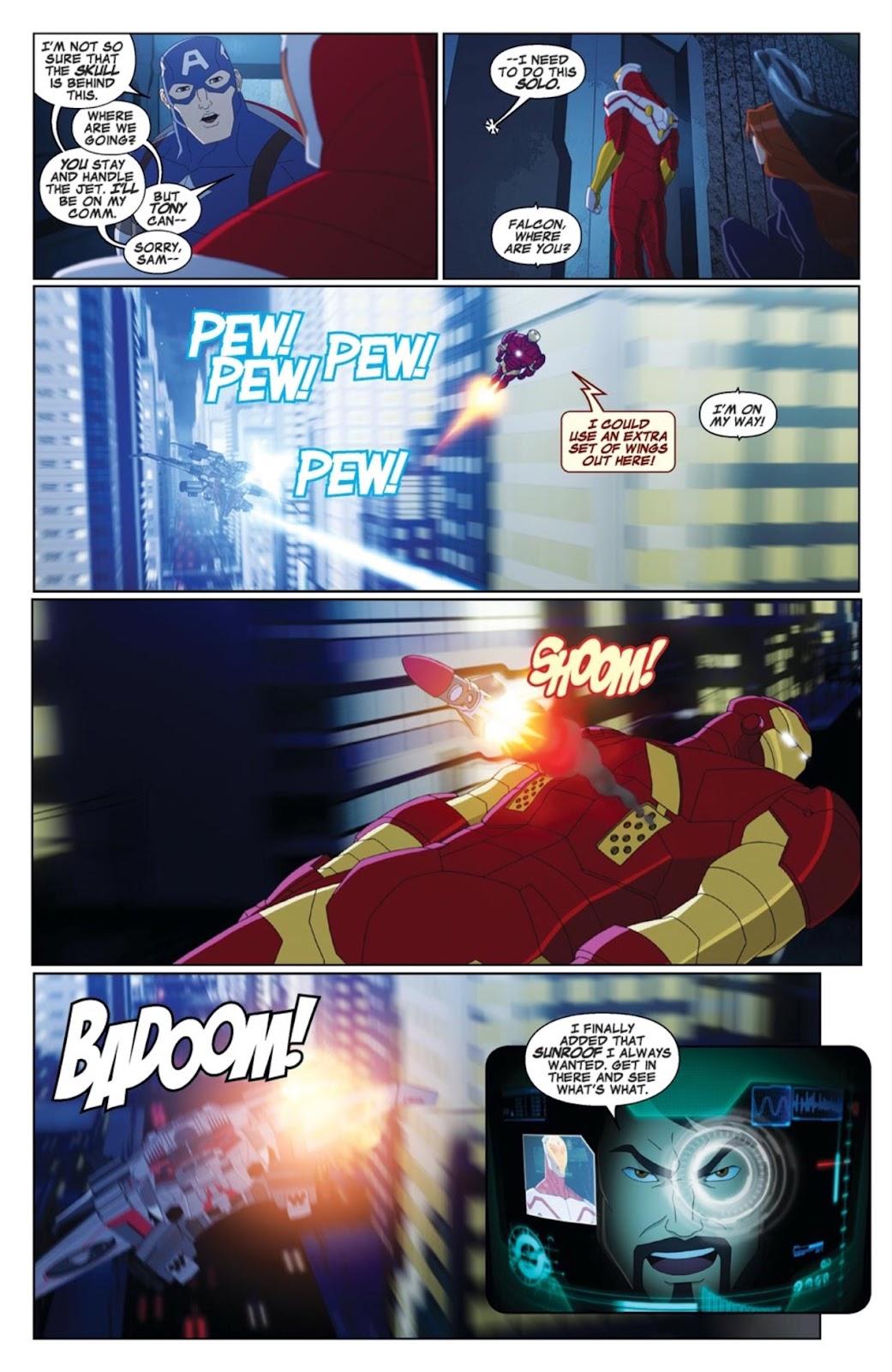 Read online Marvel Universe Avengers Assemble Season 2 comic -  Issue #4 - 9
