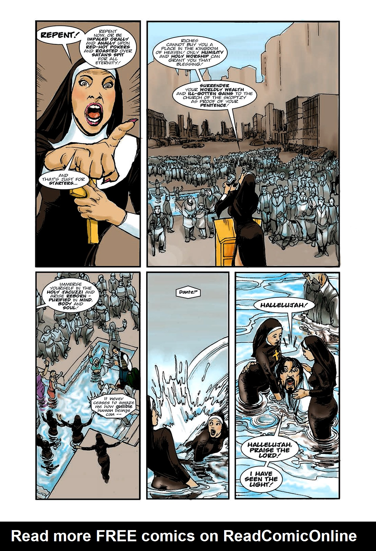 Read online Nikolai Dante comic -  Issue # TPB 6 - 17