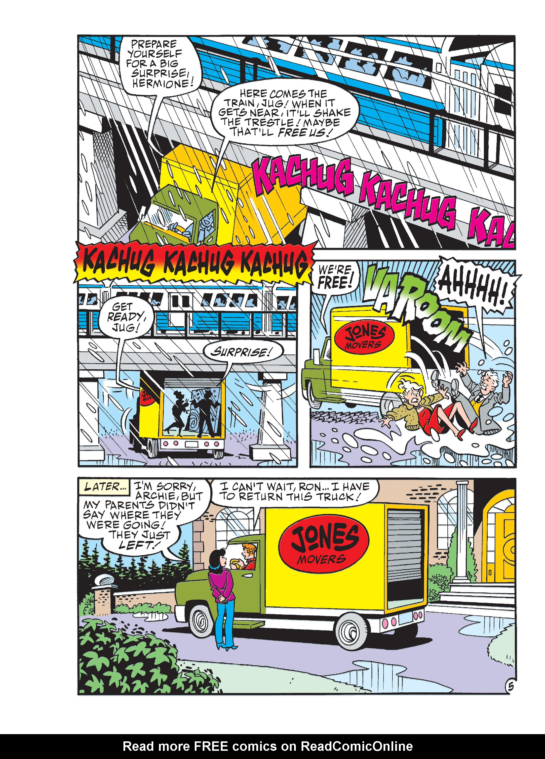 Read online Archie 1000 Page Comics Blowout! comic -  Issue # TPB (Part 4) - 238