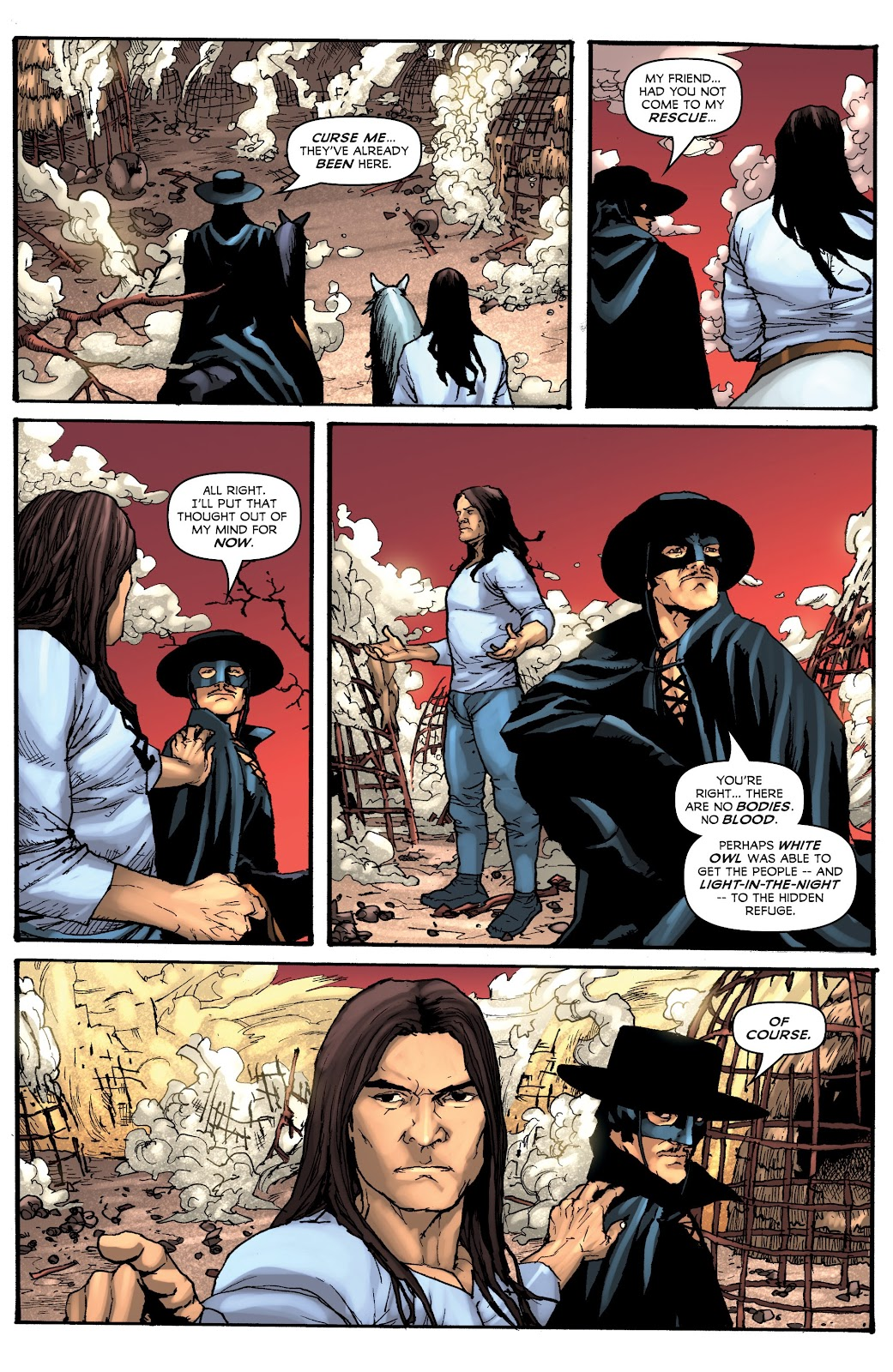 Read online Zorro: Swords of Hell comic -  Issue #3 - 10