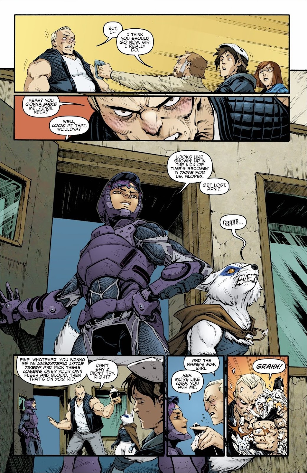 Read online Teenage Mutant Ninja Turtles: The IDW Collection comic -  Issue # TPB 6 (Part 2) - 32